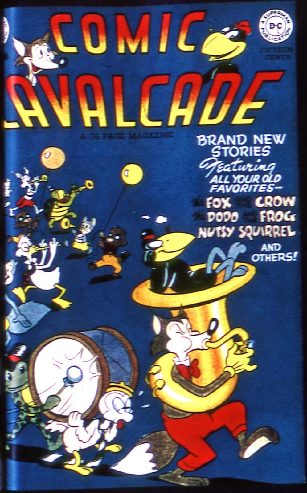 Comic Cavalcade issue 30 - Page 1