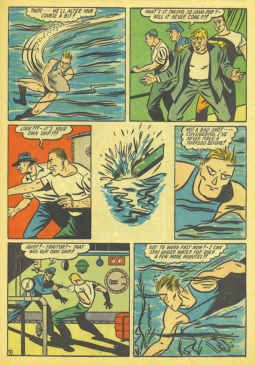 Read online Amazing Man Comics comic -  Issue #19 - 21