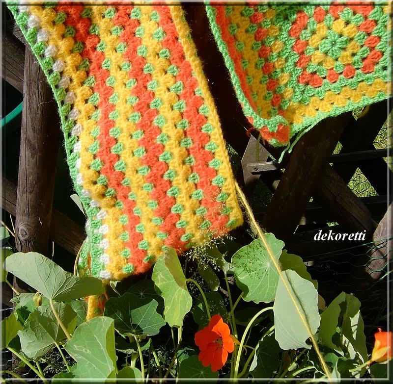 einfach gelb grun wandfarbe - dekoretti s welt h keln in gr n orange und gelb