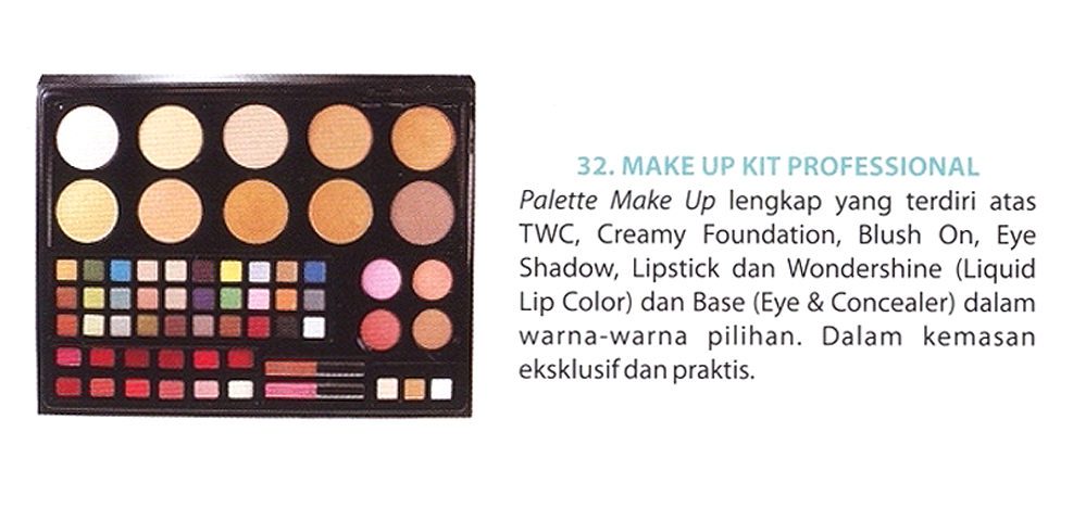Makeup Kit Professional Wardah Saubhaya Makeup