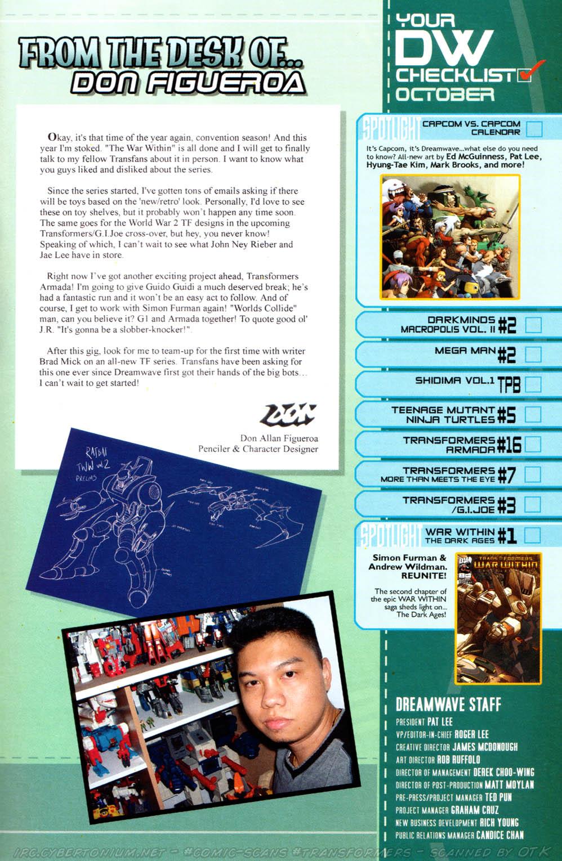 Read online Transformers Armada comic -  Issue #16 - 27