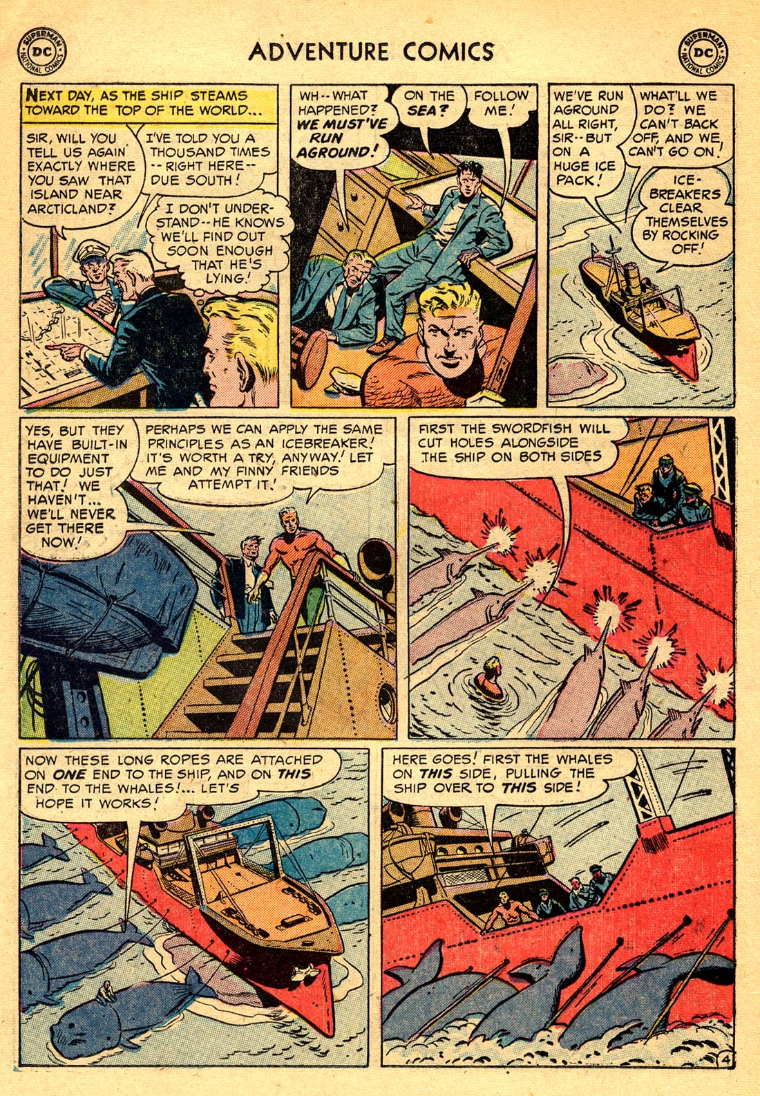 Read online Adventure Comics (1938) comic -  Issue #209 - 18