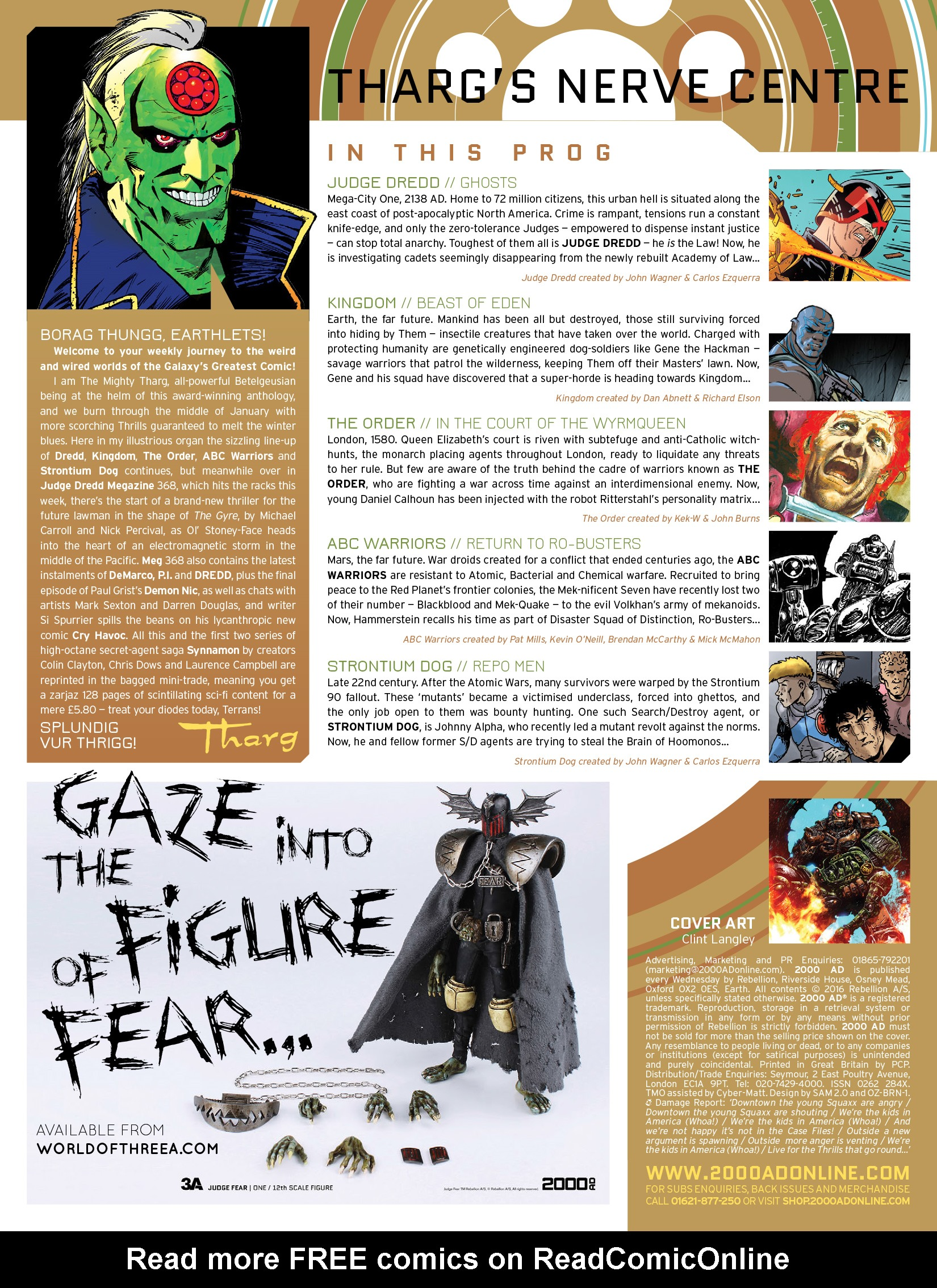 Read online 2000 AD comic -  Issue #1964 - 2