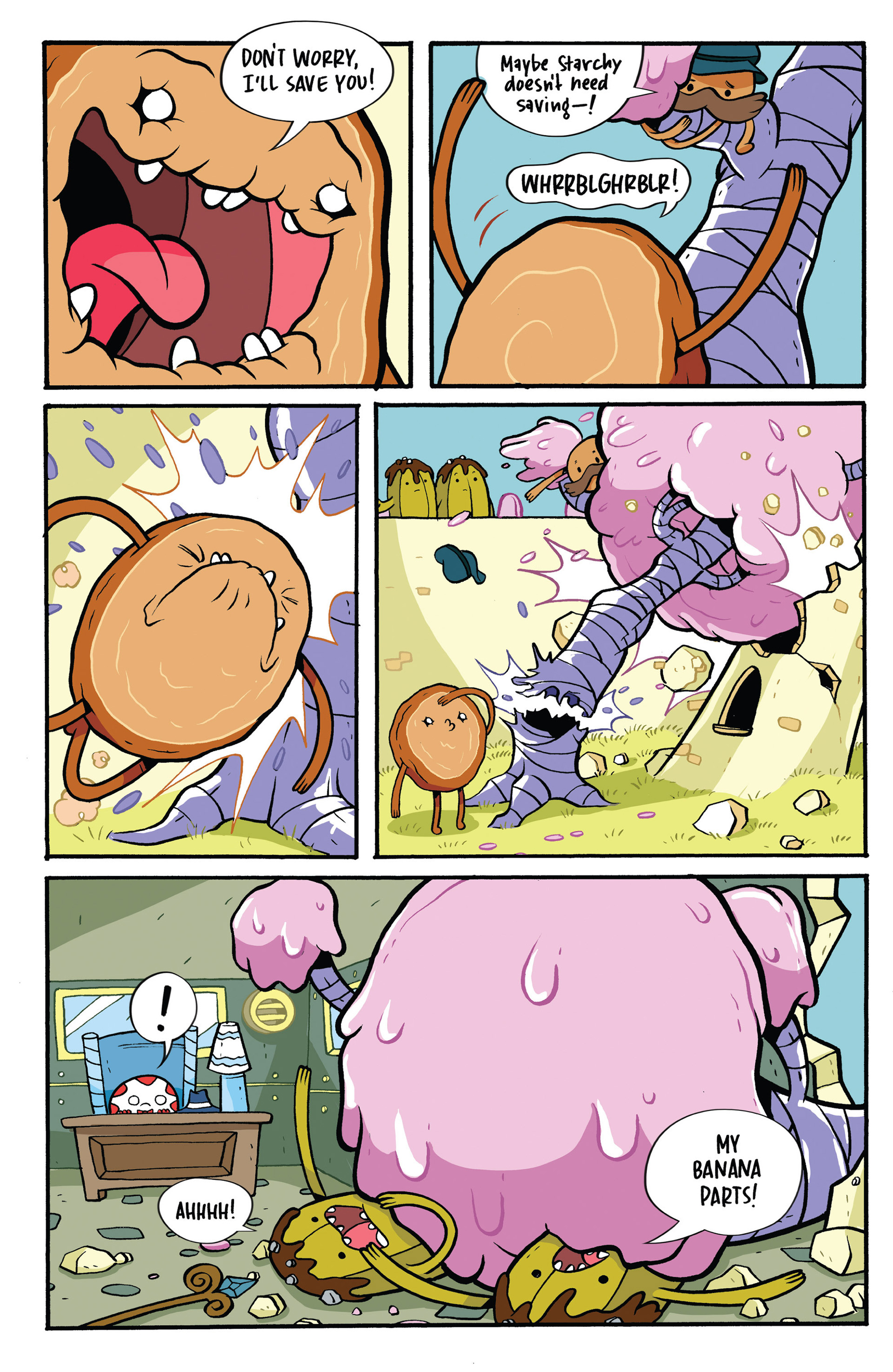 Read online Adventure Time: Candy Capers comic -  Issue #1 - 24