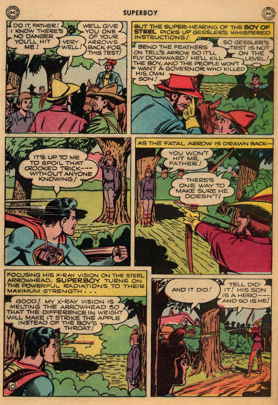 Superboy (1949) issue 3 - Page 11