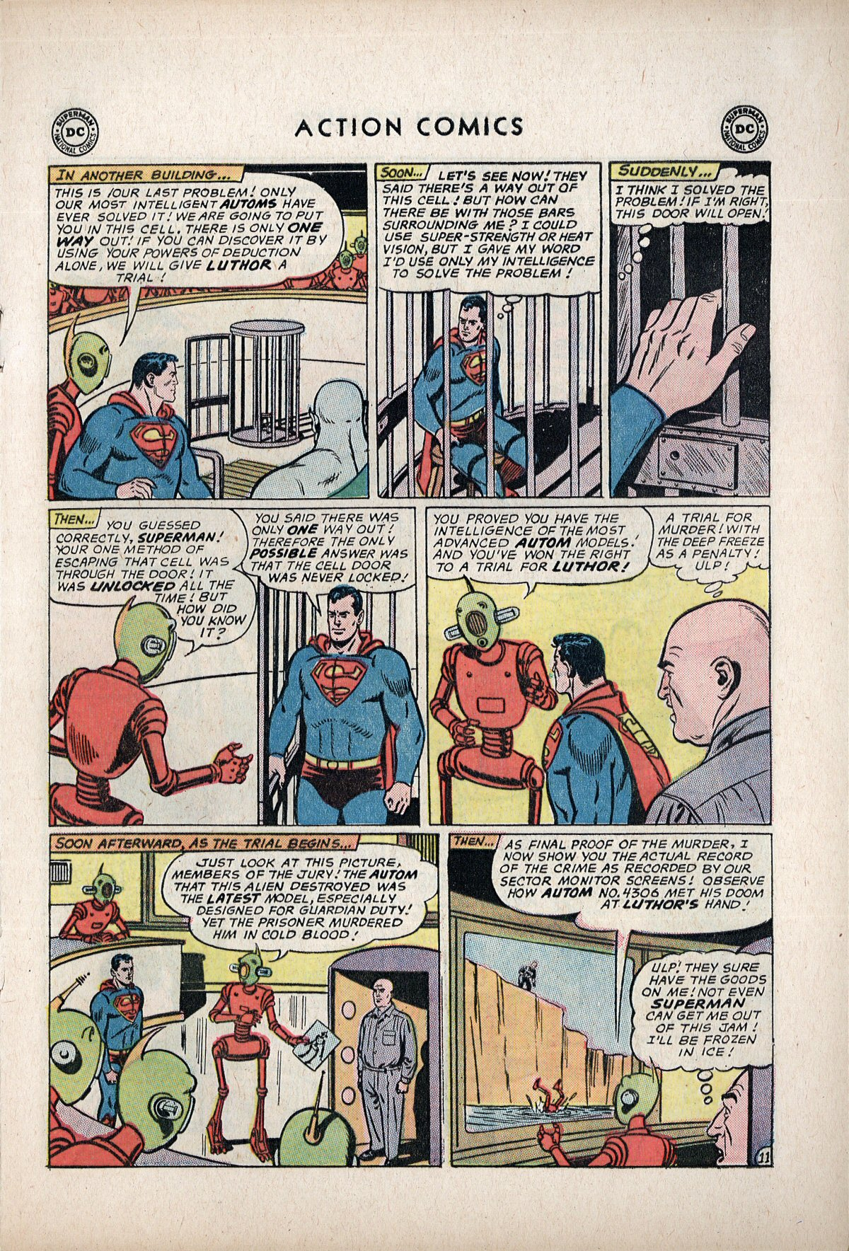Read online Action Comics (1938) comic -  Issue #292 - 13