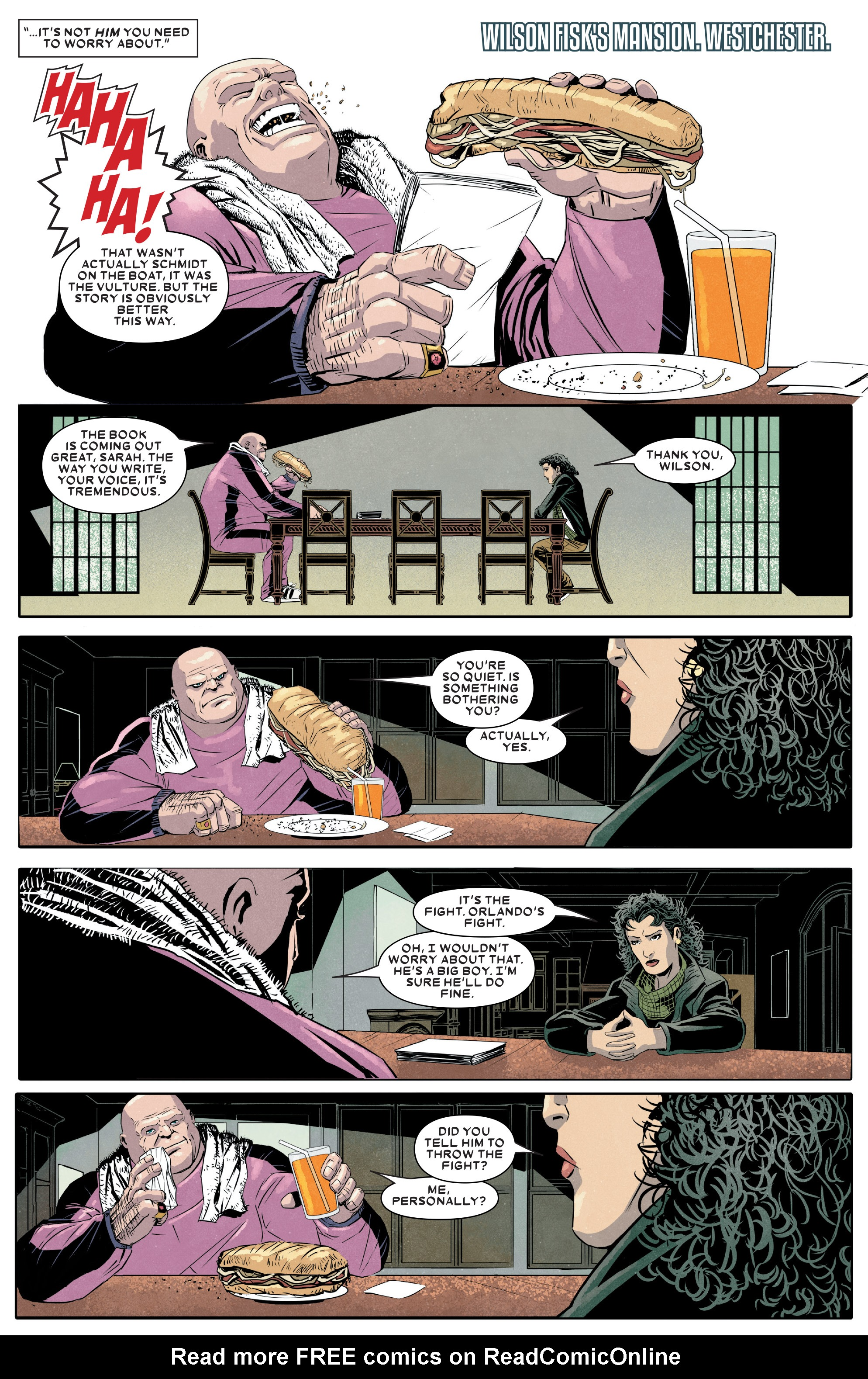 Read online Kingpin (2017) comic -  Issue #5 - 5