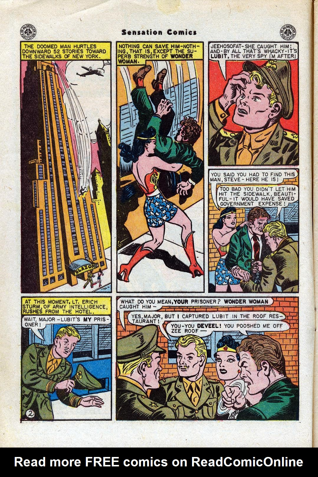 Read online Sensation (Mystery) Comics comic -  Issue #44 - 4