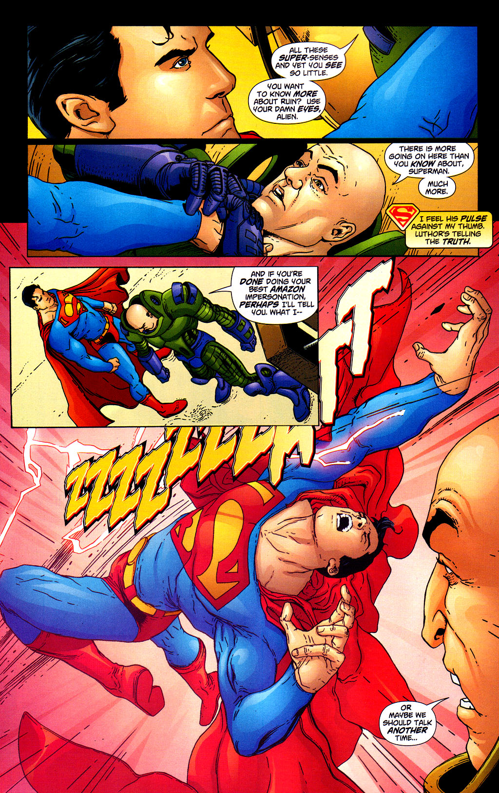 Read online Adventures of Superman (1987) comic -  Issue #645 - 15