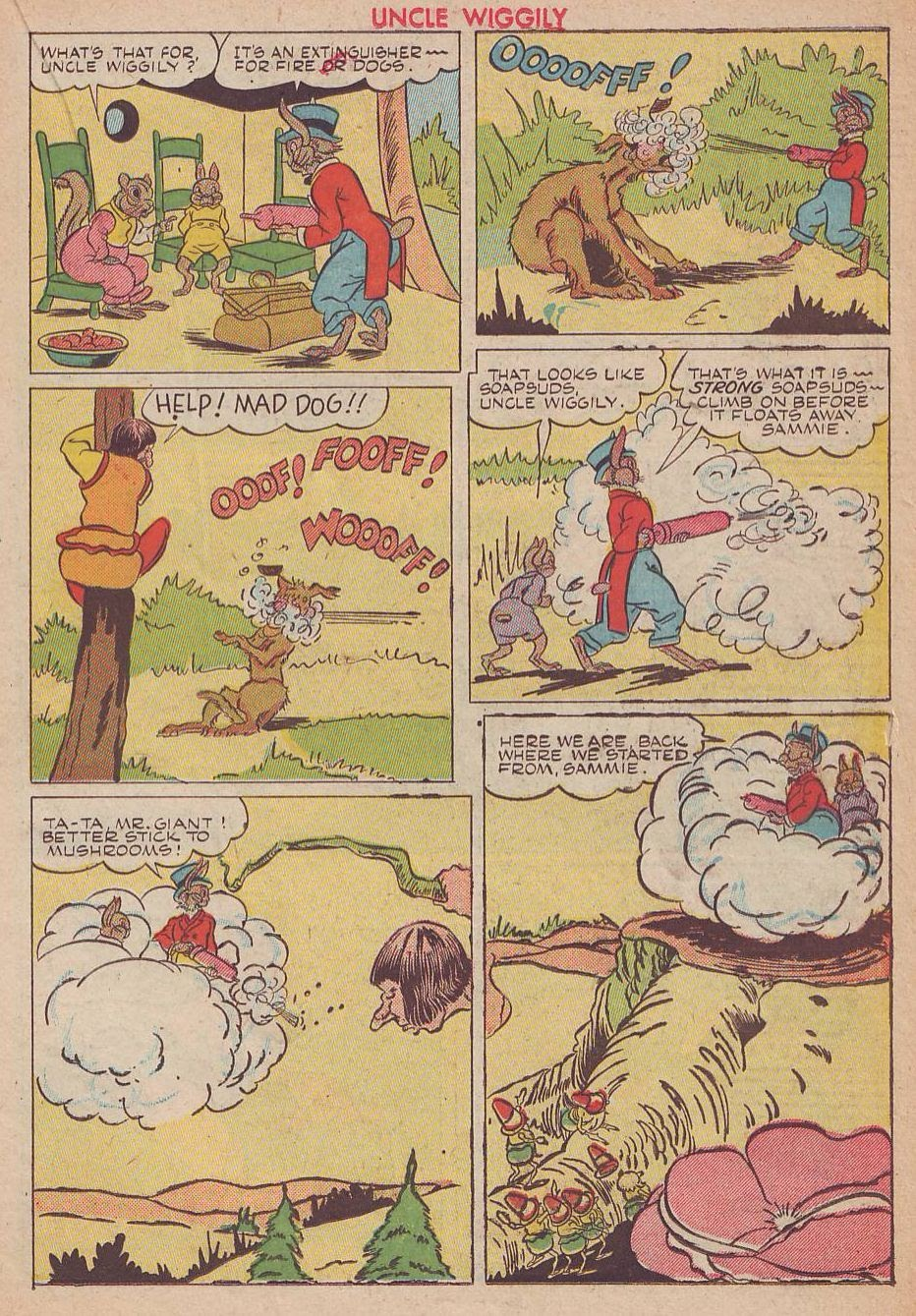 Read online Animal Comics comic -  Issue #25 - 27