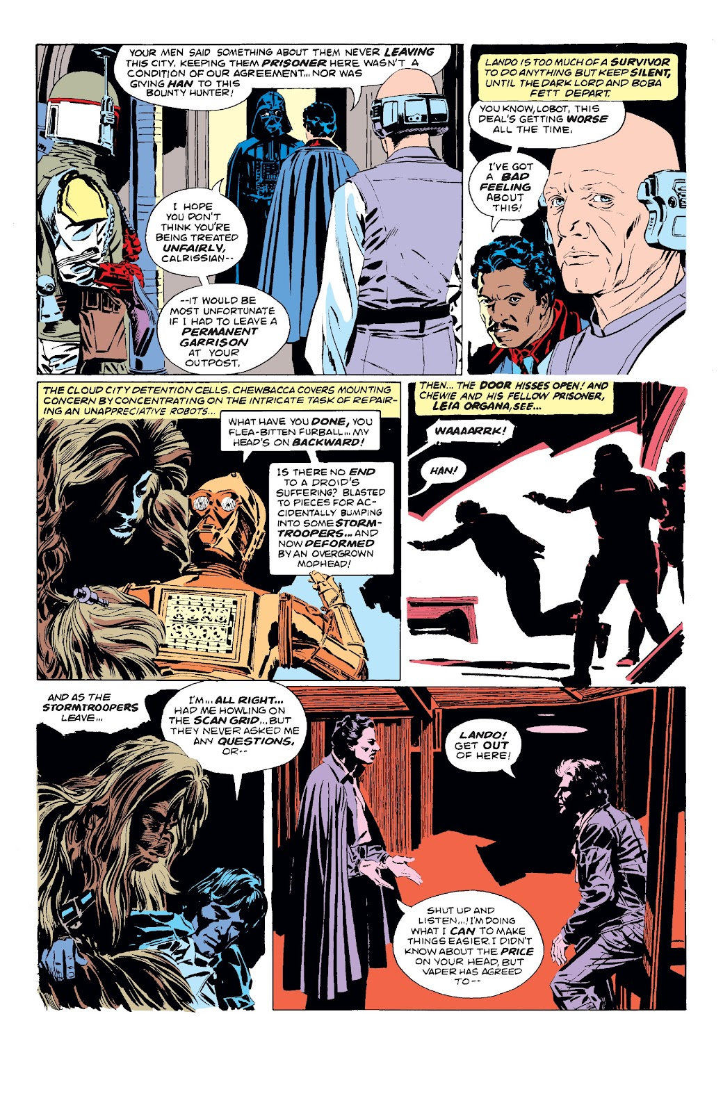 Read online Star Wars Legends: The Original Marvel Years - Epic Collection comic -  Issue # TPB 3 (Part 1) - 90