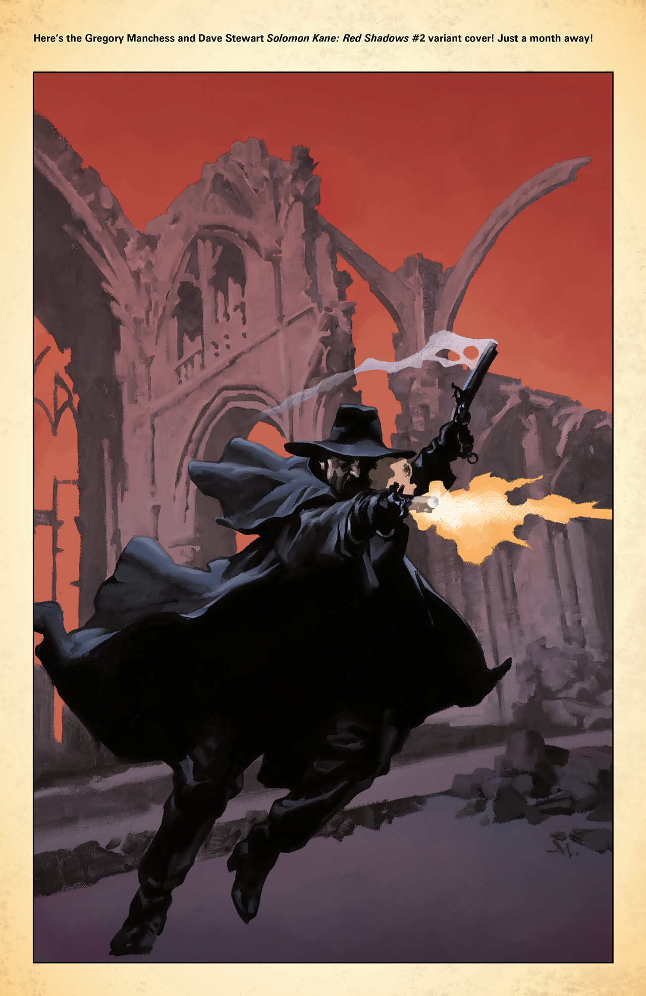Read online Solomon Kane: Red Shadows comic -  Issue #1 - 28