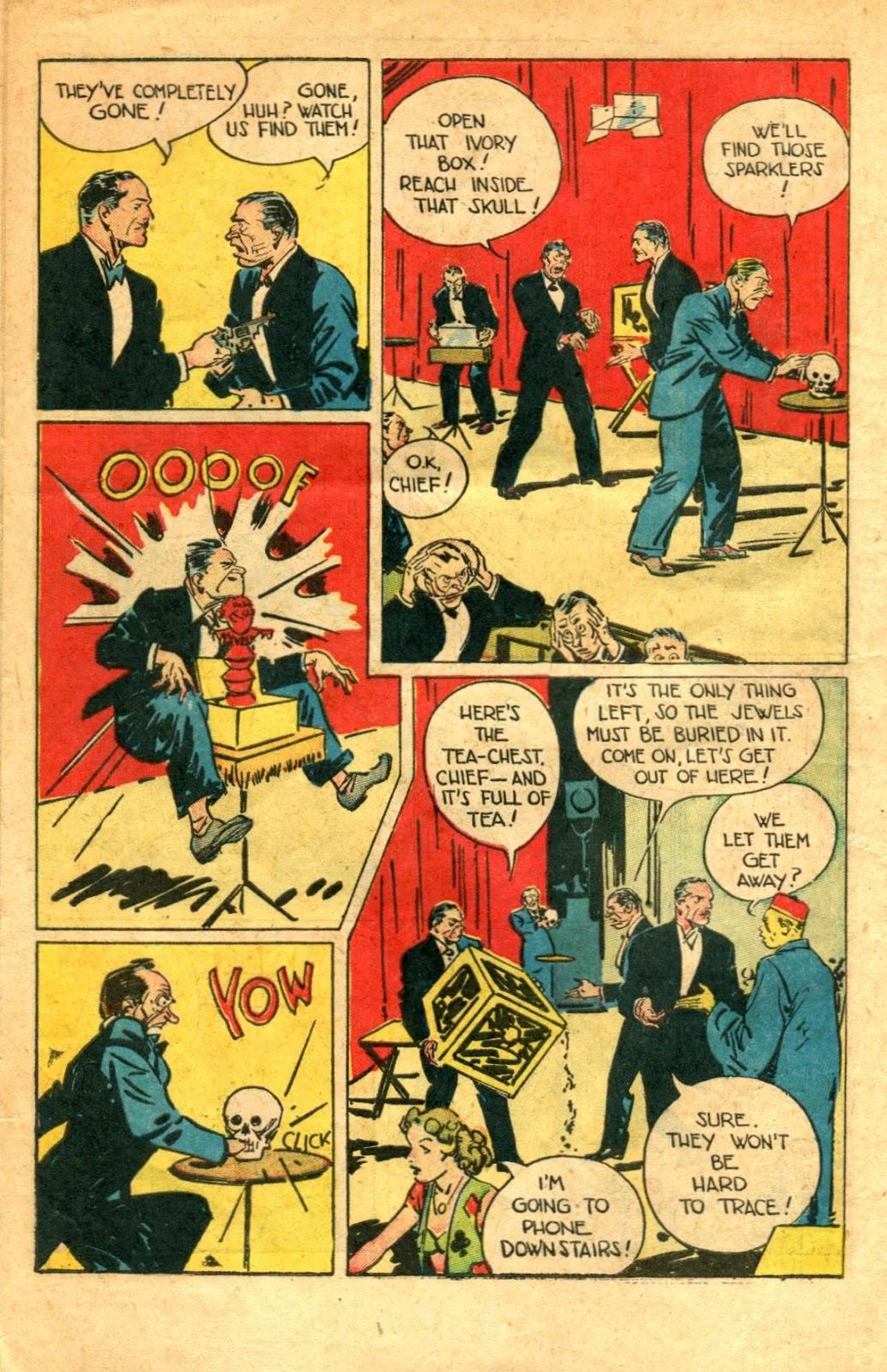 Read online Super-Magician Comics comic -  Issue #48 - 12