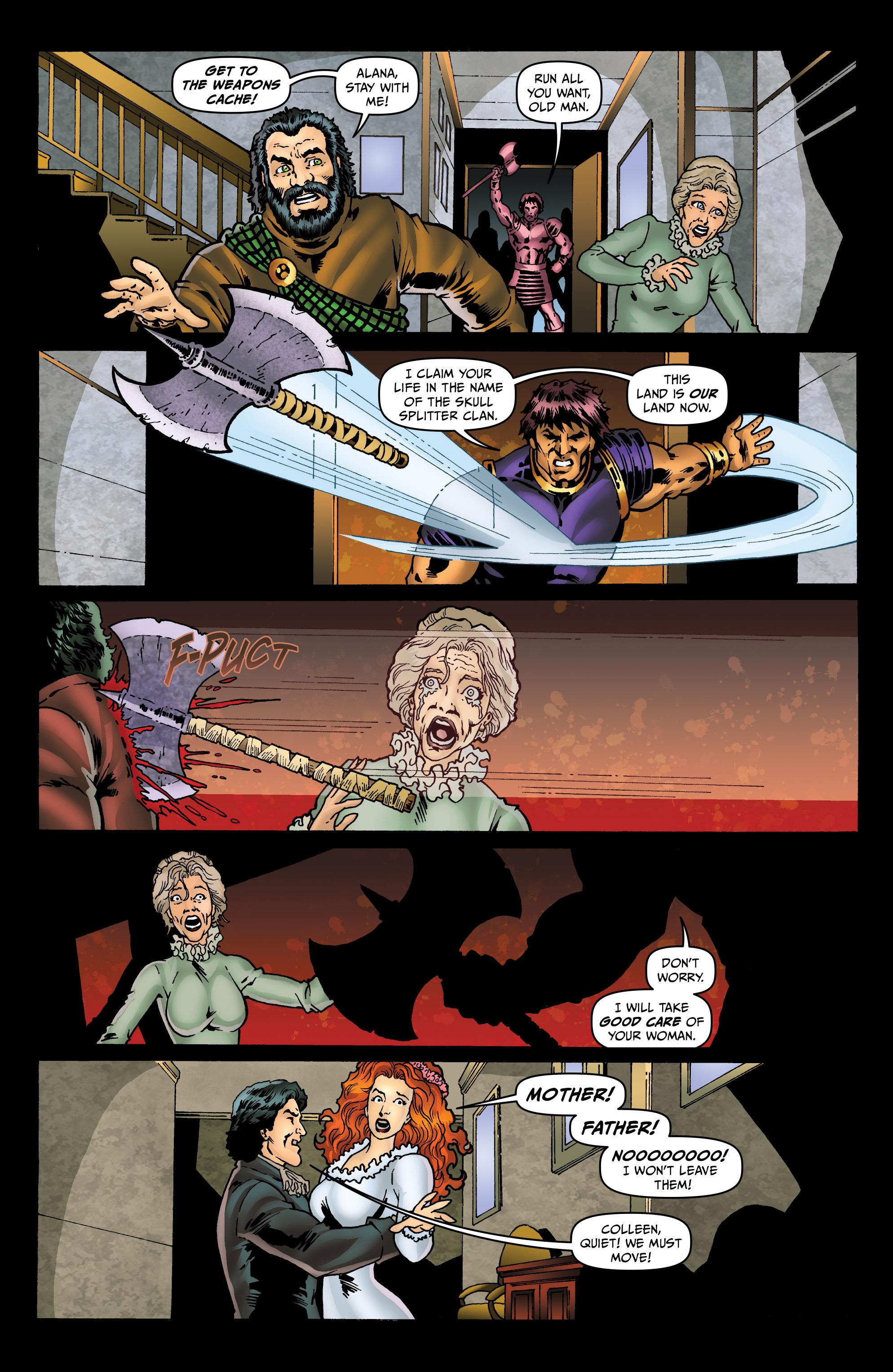 Read online Belladonna: Origins comic -  Issue #5 - 17