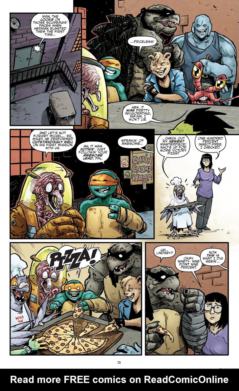 Read online Teenage Mutant Ninja Turtles: The IDW Collection comic -  Issue # TPB 7 (Part 1) - 72