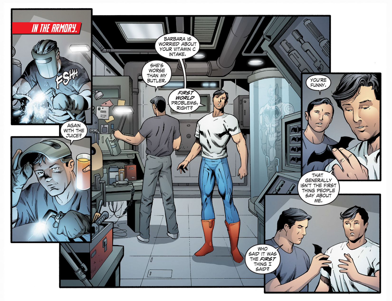 Read online Smallville: Season 11 comic -  Issue #22 - 11