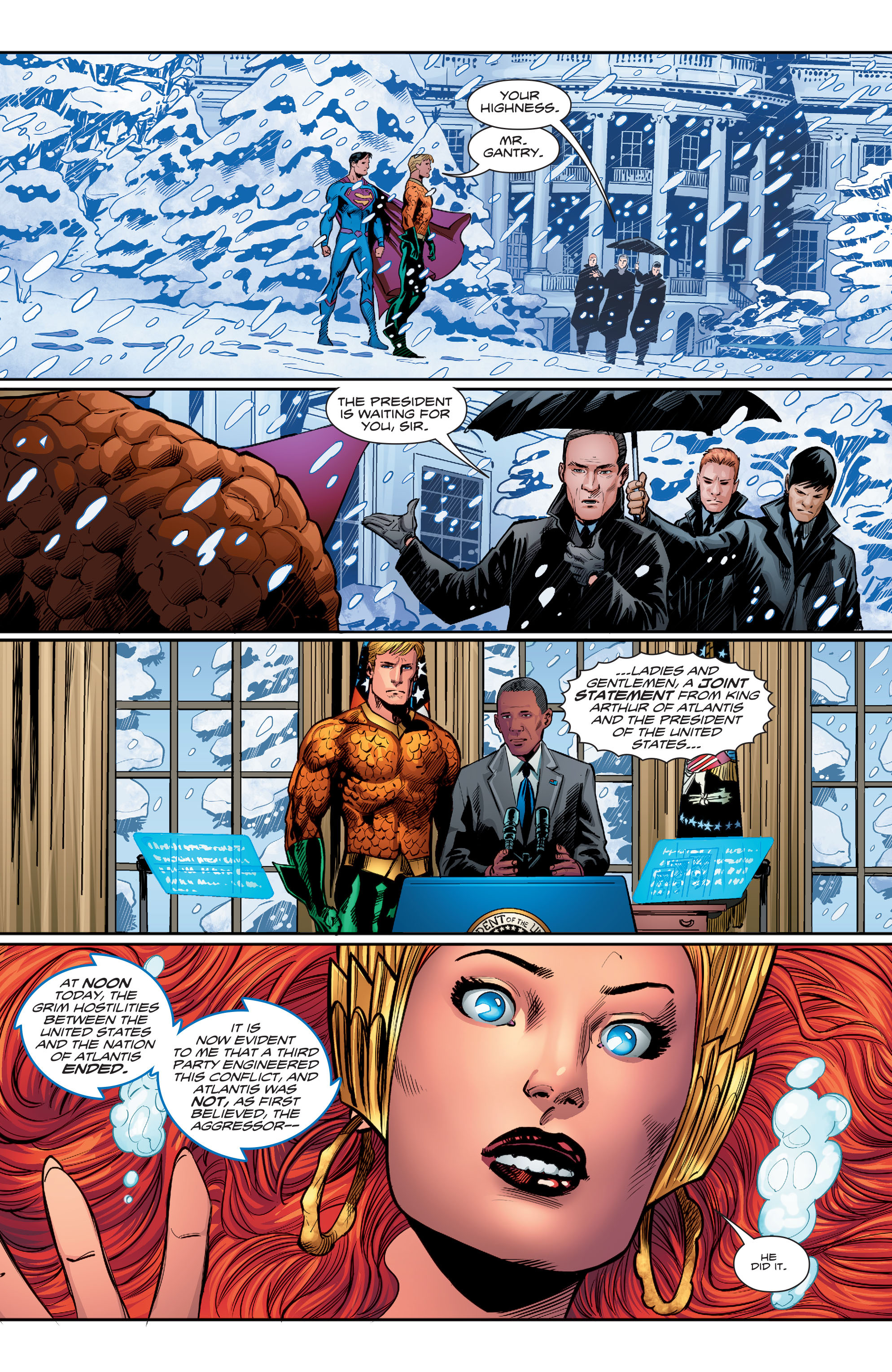 Read online Aquaman (2016) comic -  Issue #15 - 20