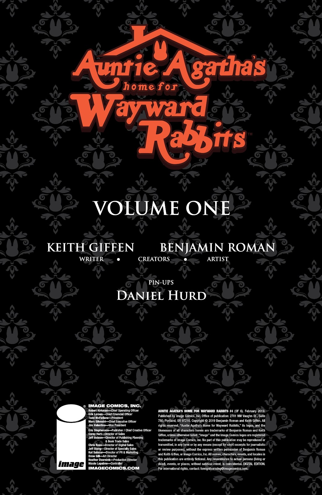 Read online Auntie Agatha's Home For Wayward Rabbits comic -  Issue #4 - 2
