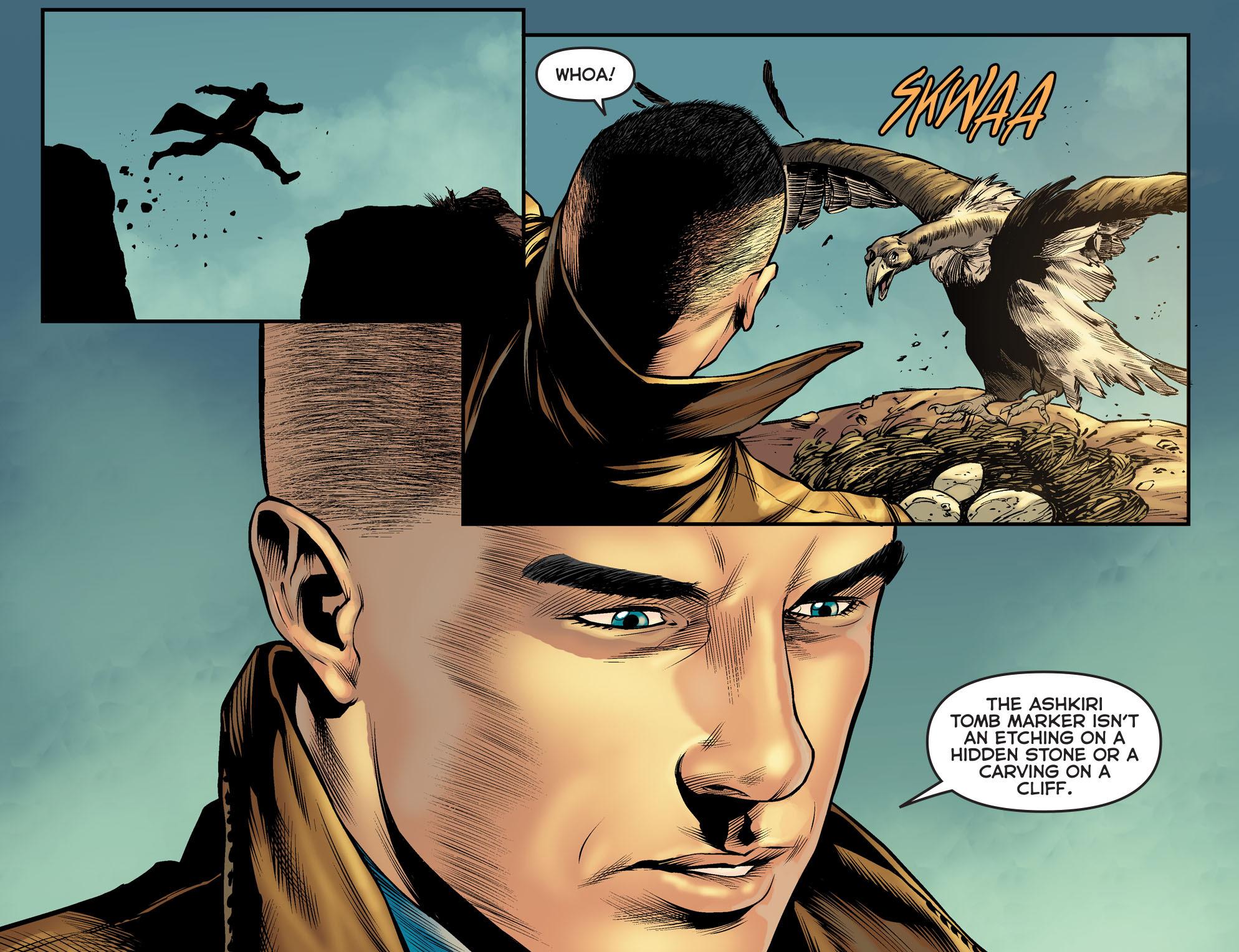Read online Arrow: The Dark Archer comic -  Issue #5 - 20