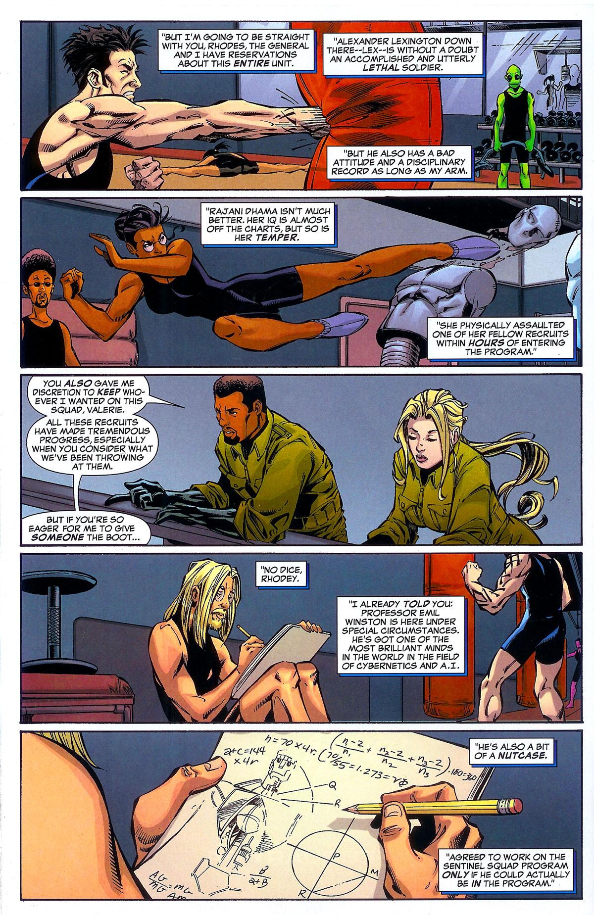 Read online Sentinel Squad O*N*E comic -  Issue #2 - 11