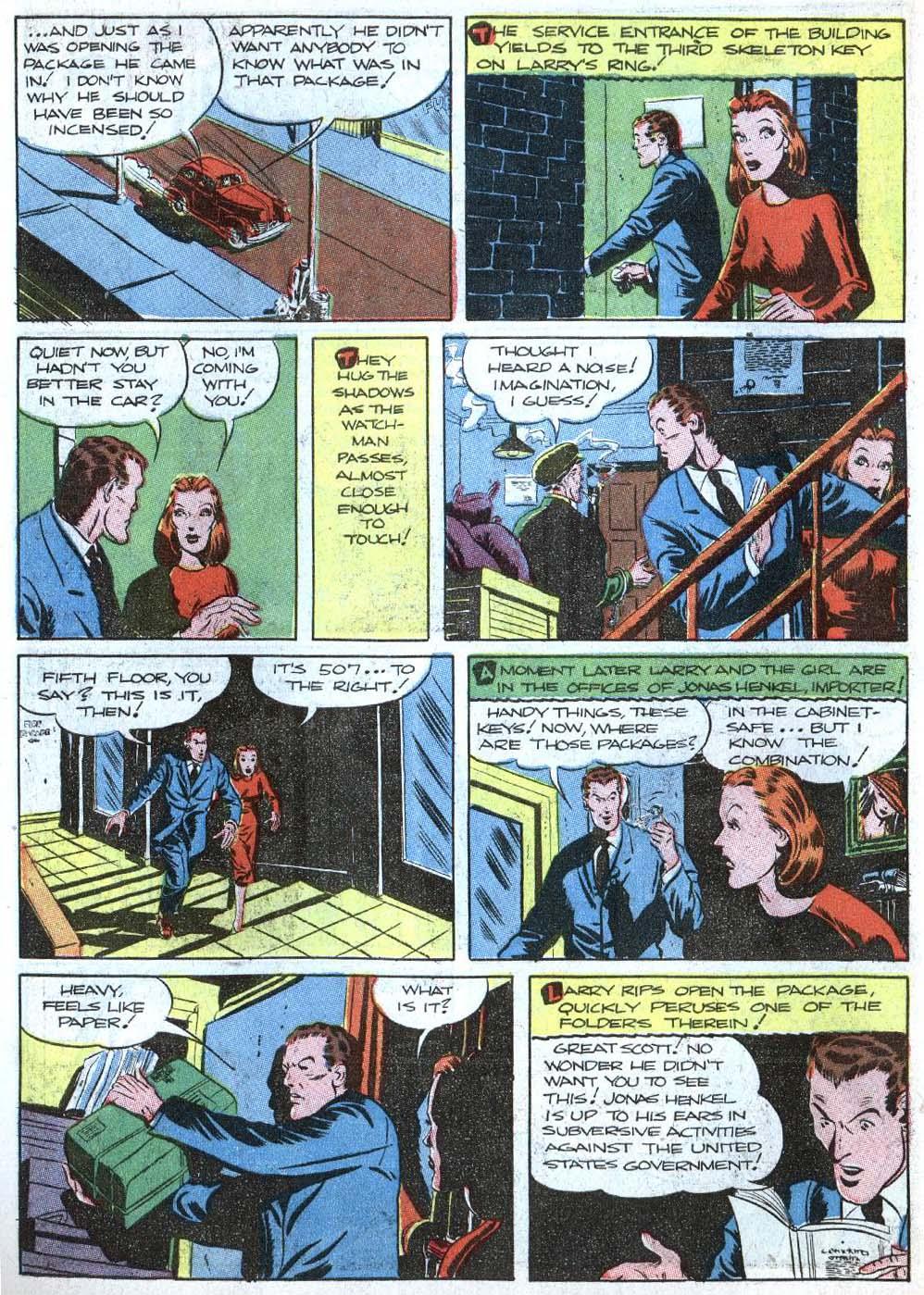 Read online Detective Comics (1937) comic -  Issue #43 - 46