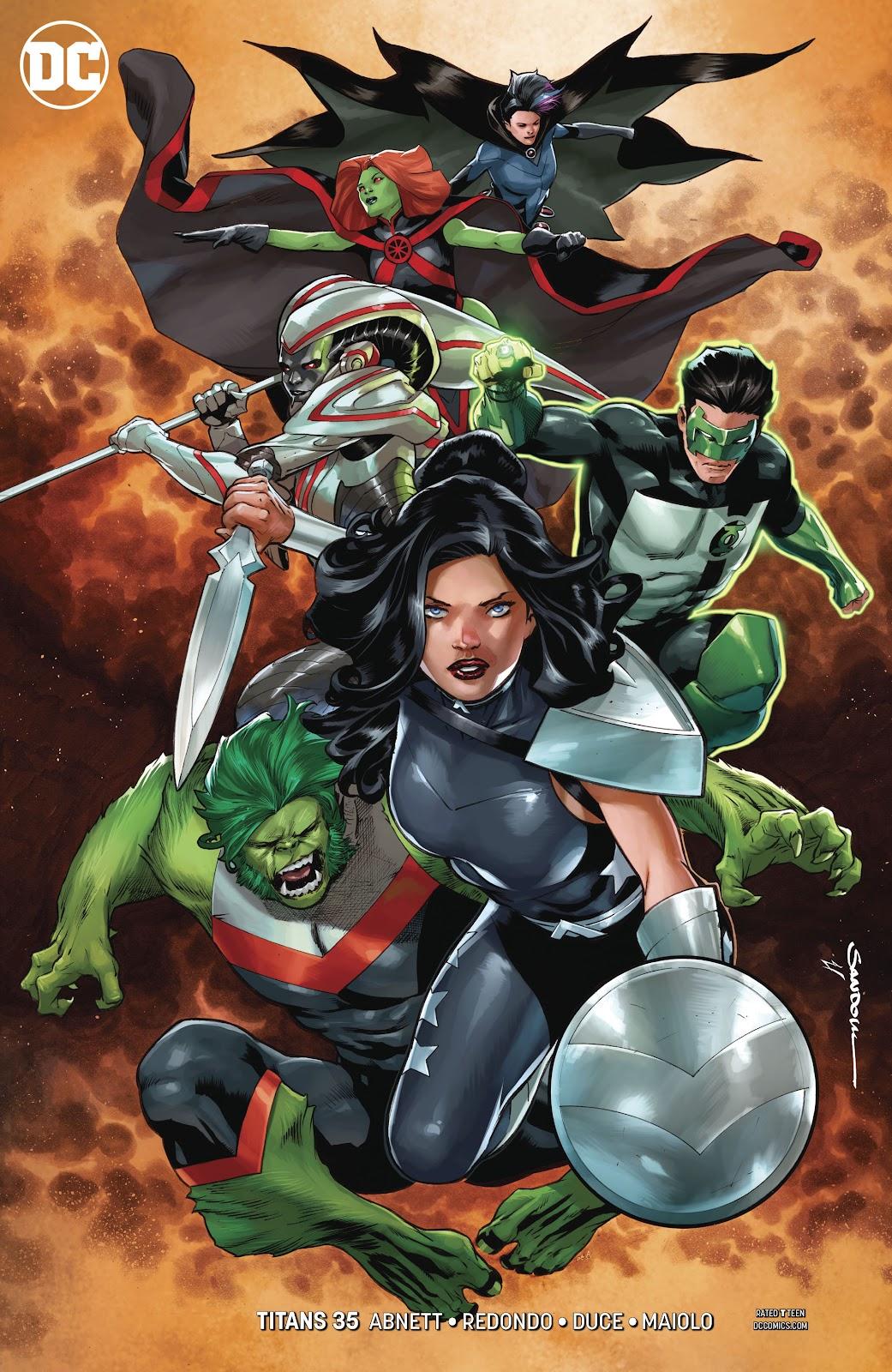 Read online Titans (2016) comic -  Issue #35 - 3