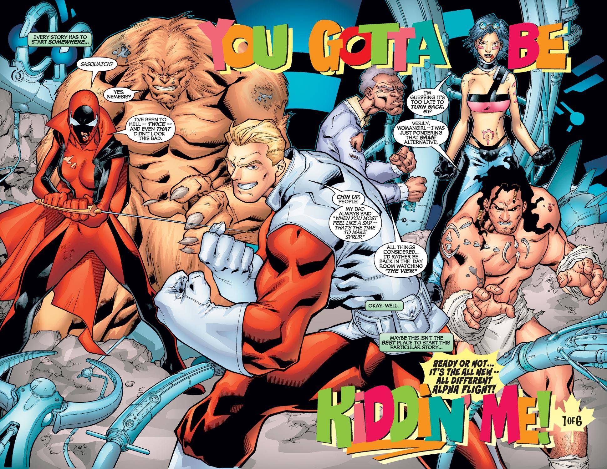 Read online Alpha Flight (2004) comic -  Issue #1 - 3