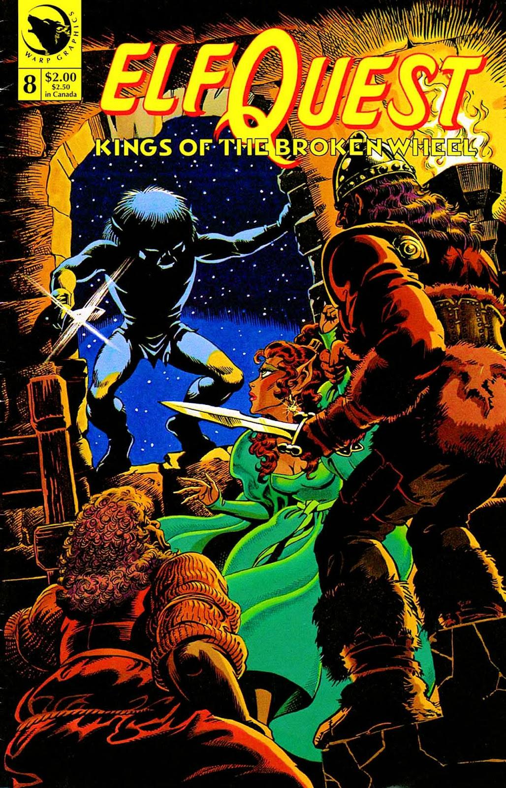 ElfQuest: Kings of the Broken Wheel 8 Page 1