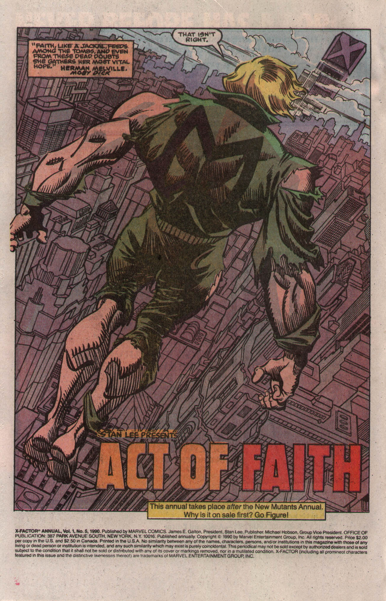 Read online X-Factor (1986) comic -  Issue # _ Annual 5 - 3