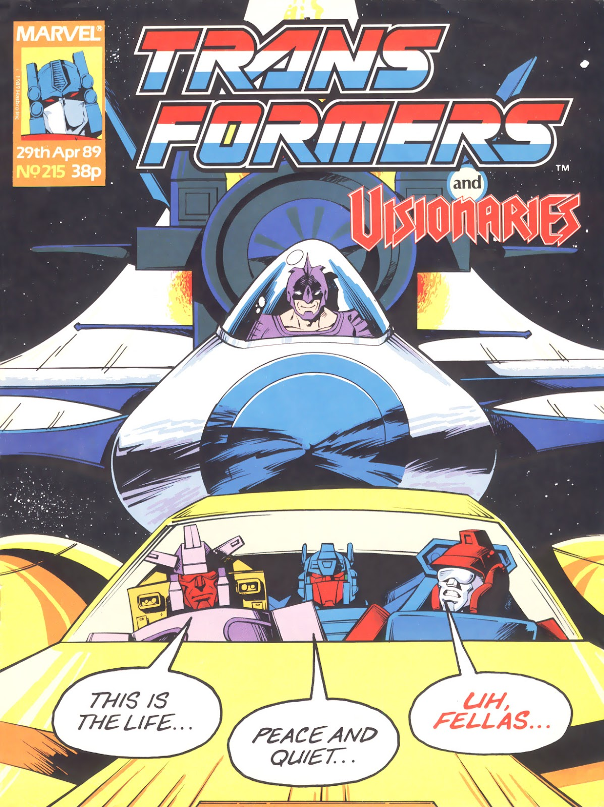 The Transformers (UK) 215 Page 1