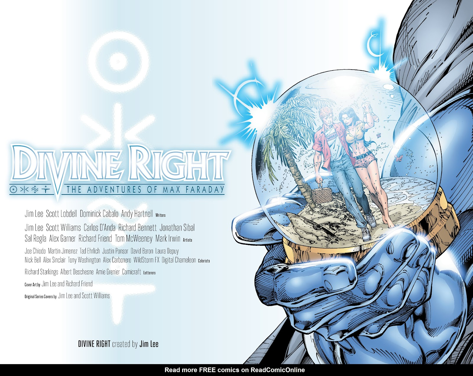 Read online Divine Right comic -  Issue # _TPB The Adventures of Max Faraday (Part 1) - 3