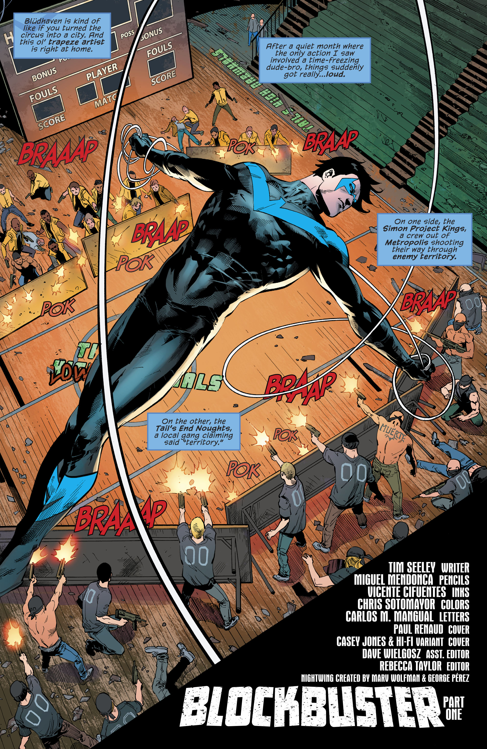 Read online Nightwing (2016) comic -  Issue #22 - 5