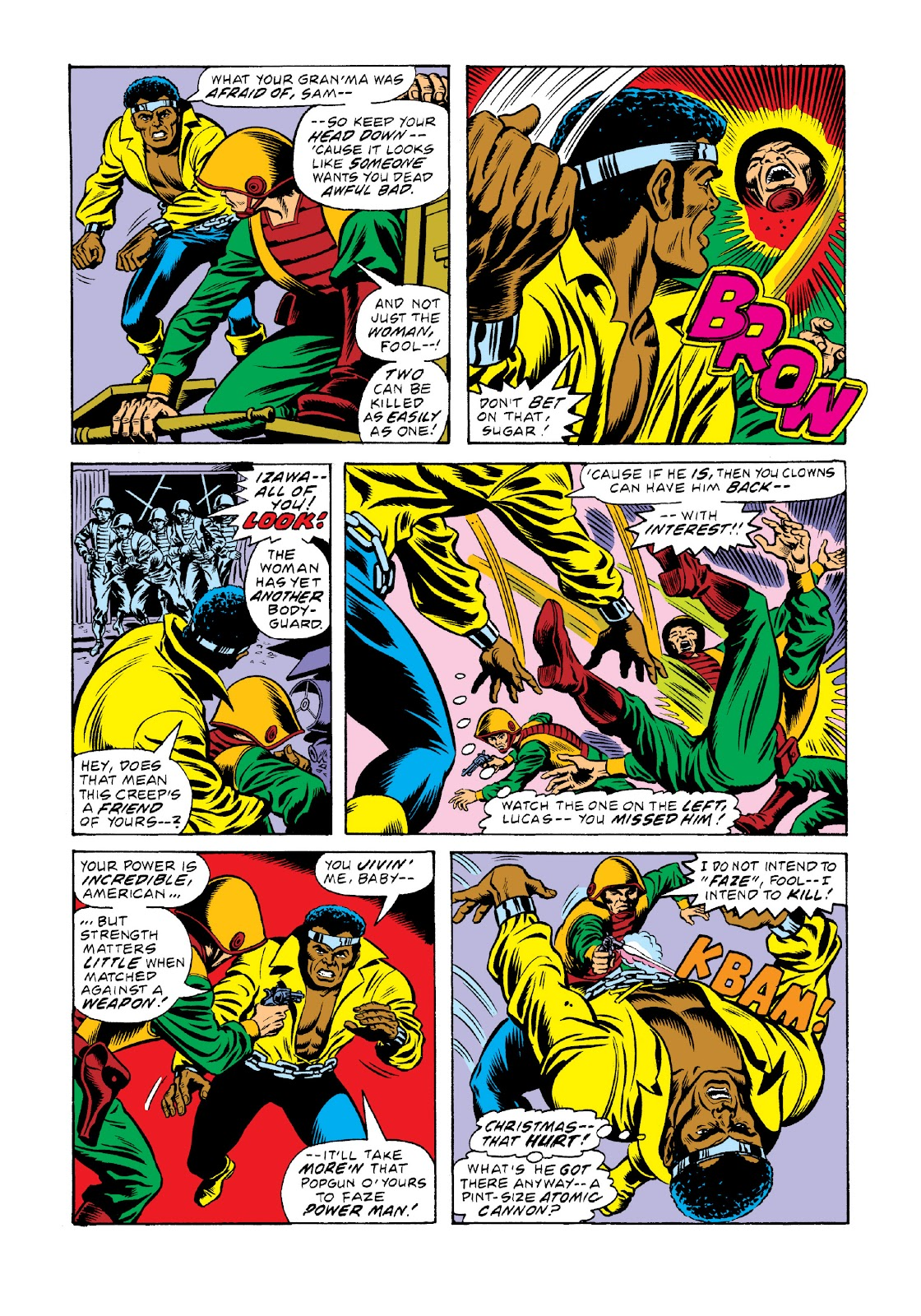 Read online Marvel Masterworks: Luke Cage, Power Man comic -  Issue # TPB 3 (Part 1) - 86