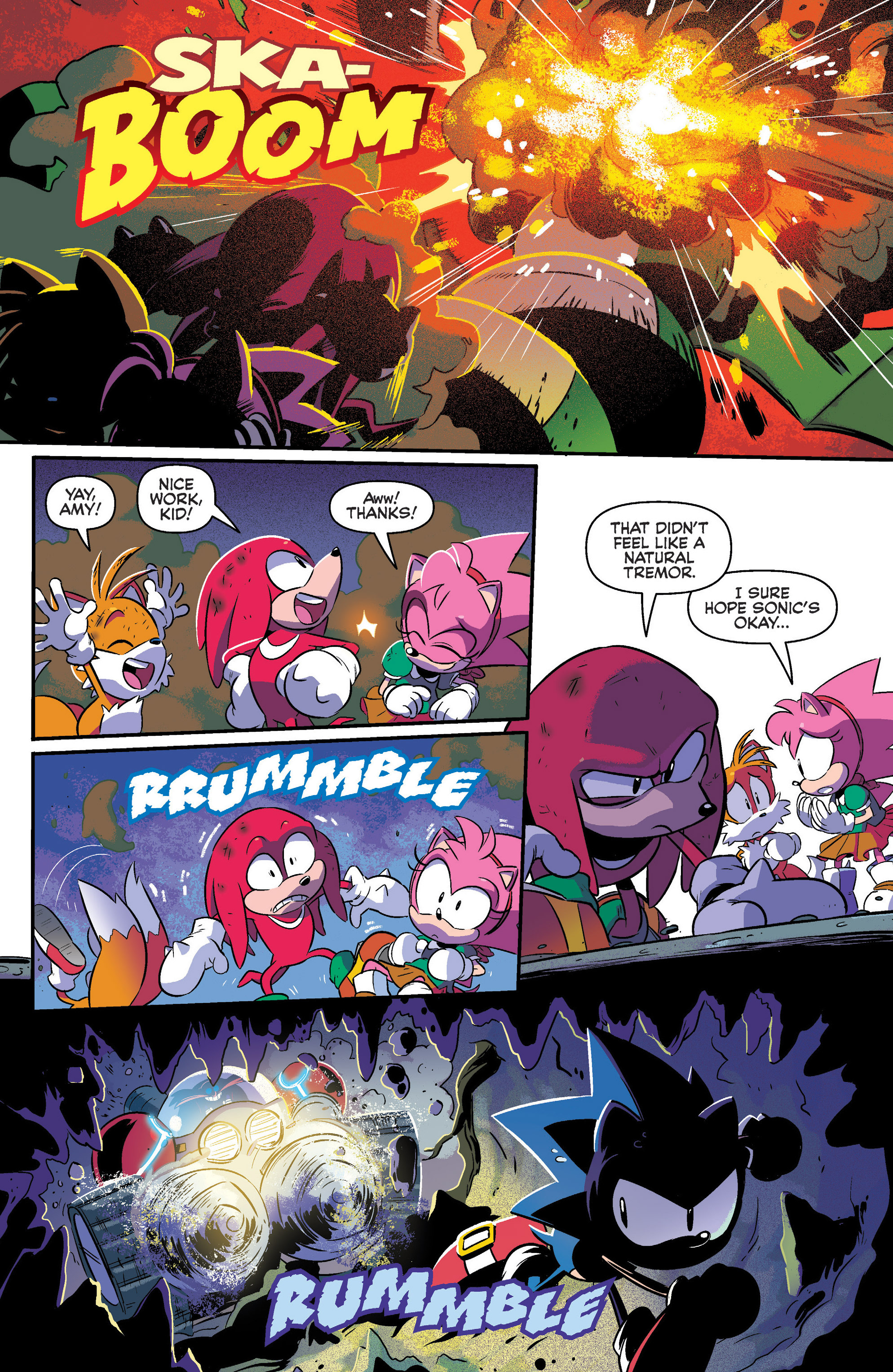 Read online Sonic: Mega Drive - The Next Level comic -  Issue # Full - 12