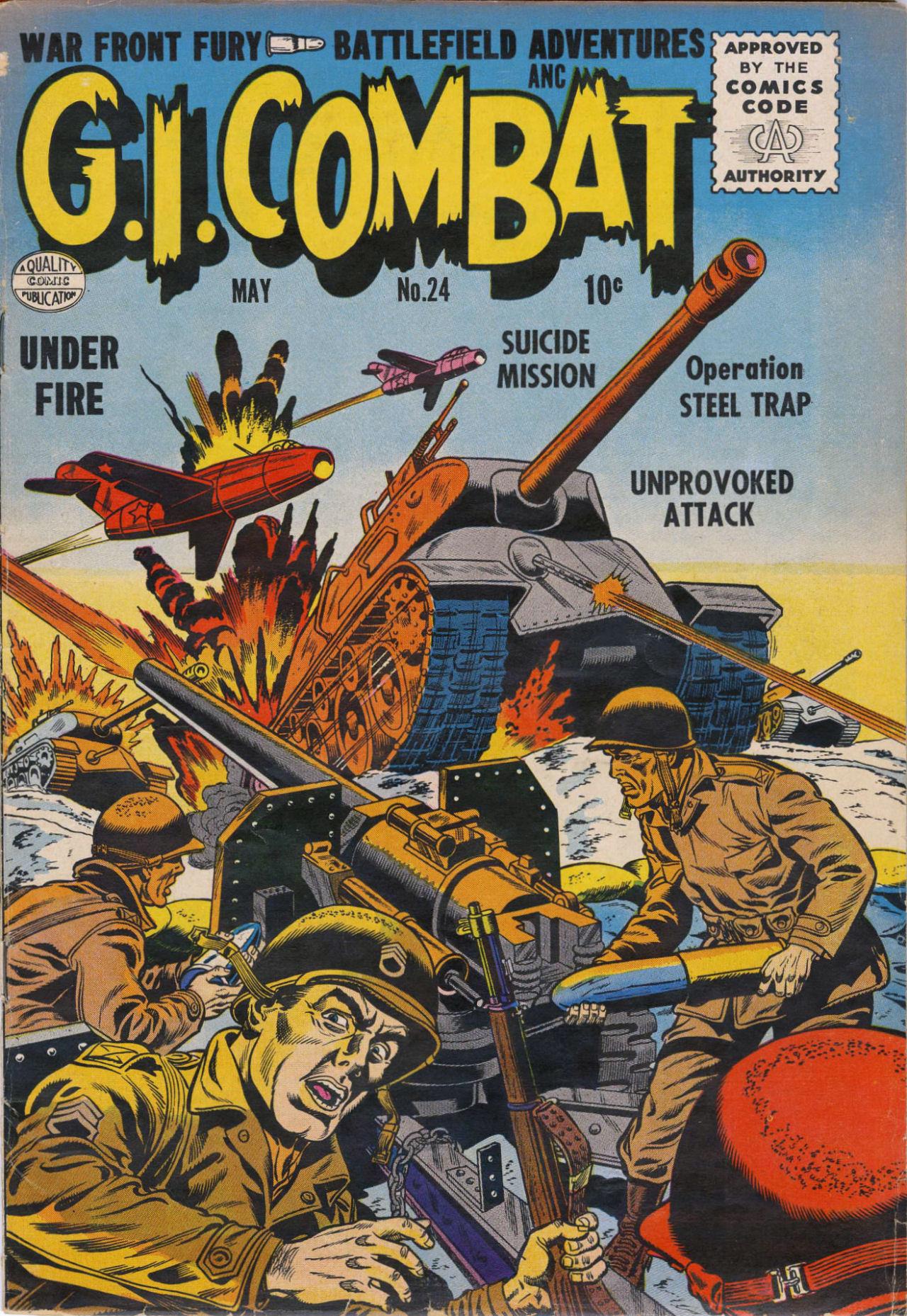 G.I. Combat (1952) 24 Page 2