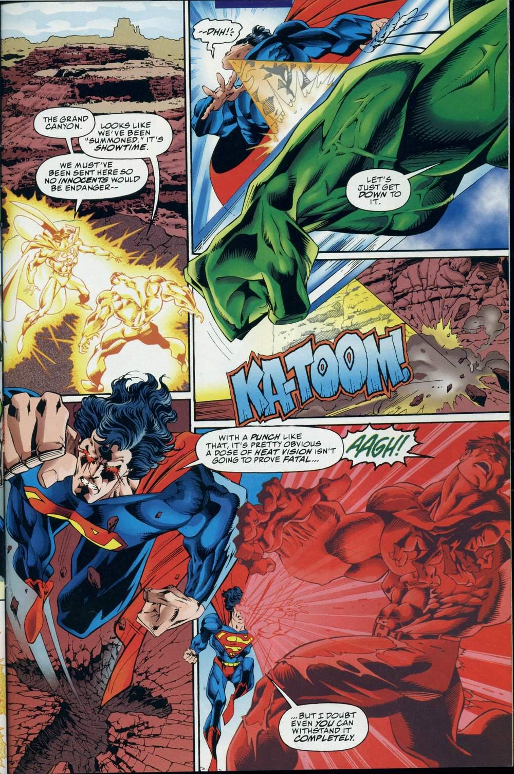 Read online DC Versus Marvel Comics comic -  Issue #3 - 30