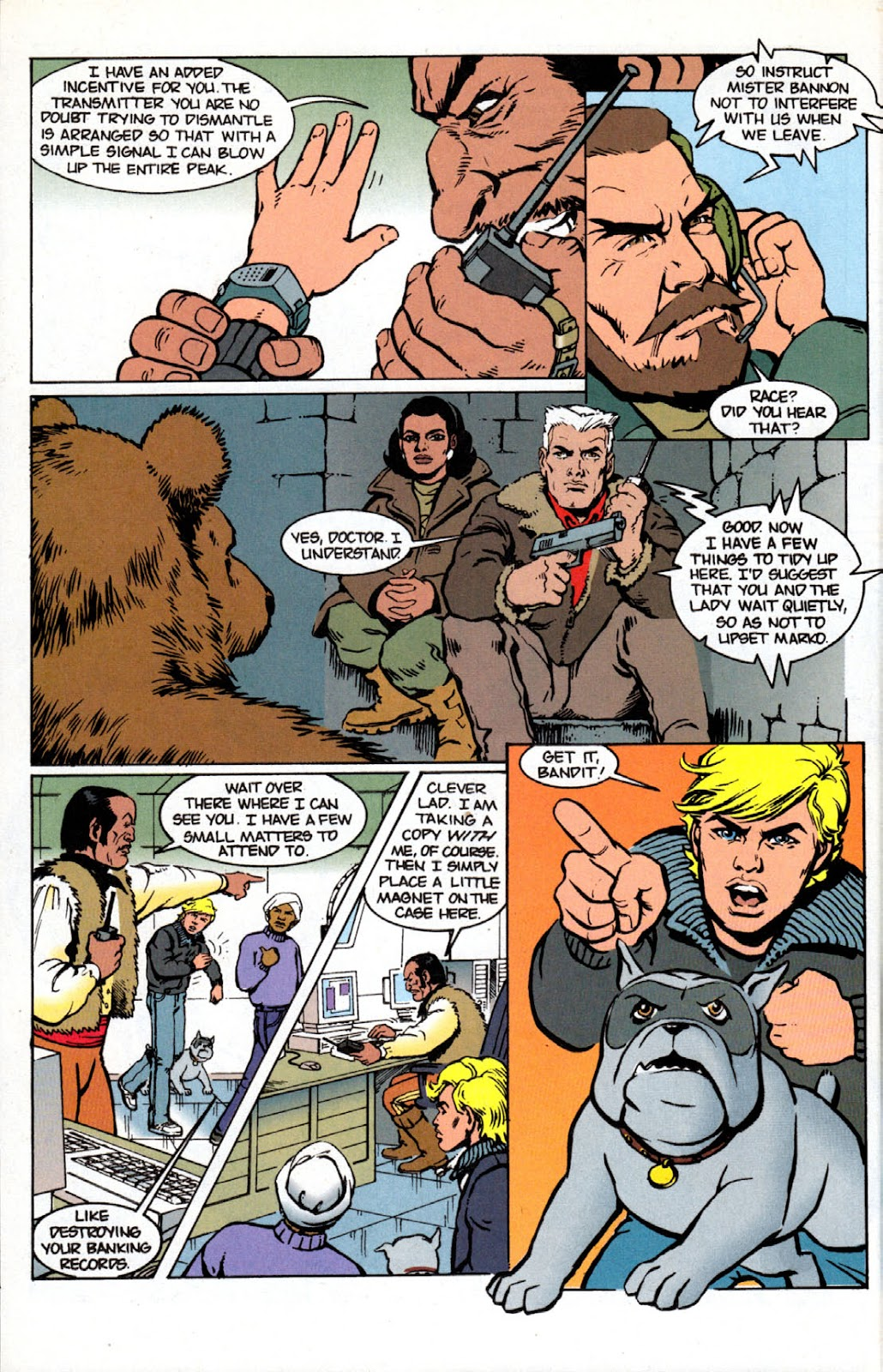 Read online The Real Adventures of Jonny Quest comic -  Issue #4 - 24