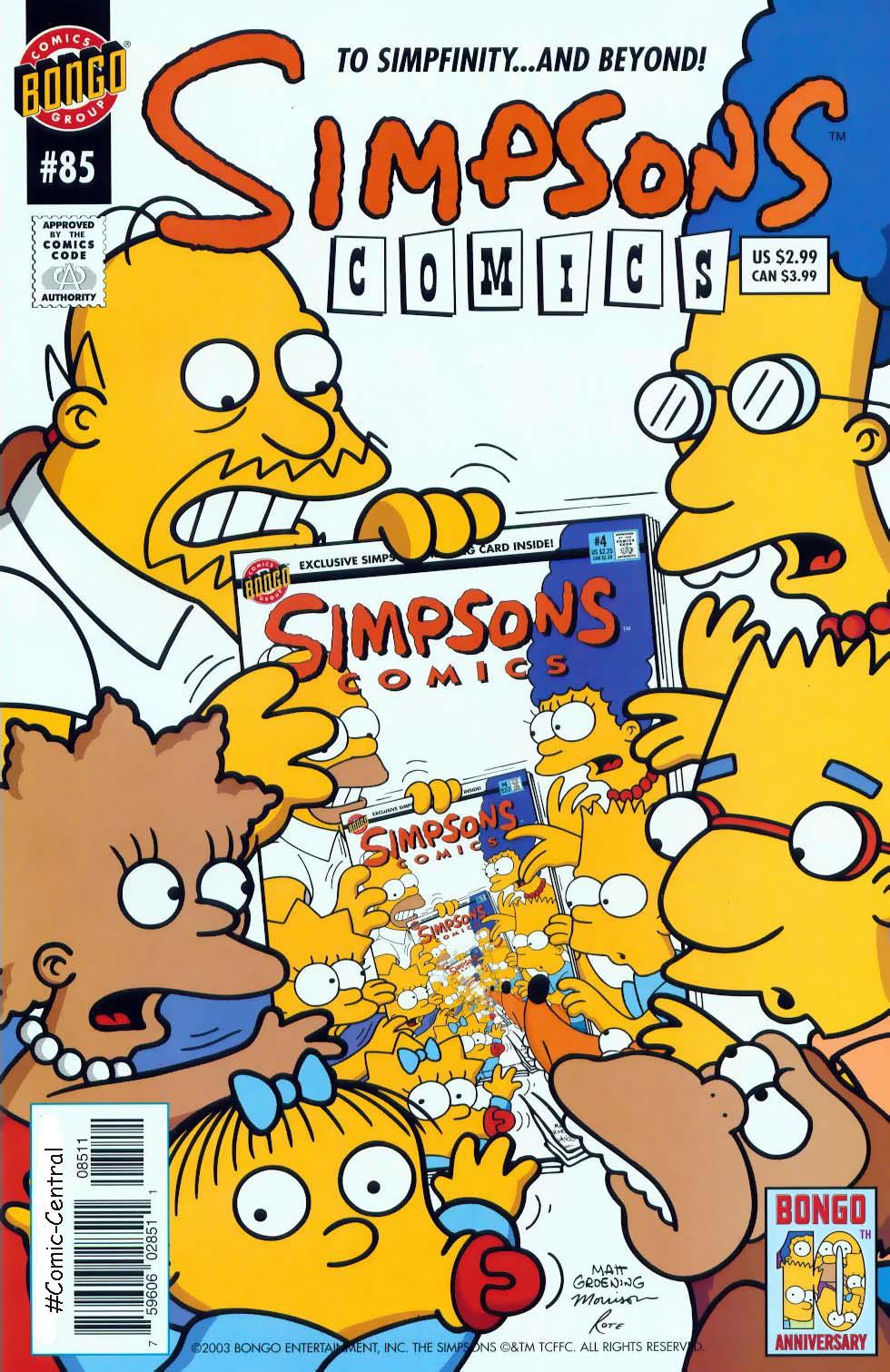 Read online Simpsons Comics comic -  Issue #85 - 1