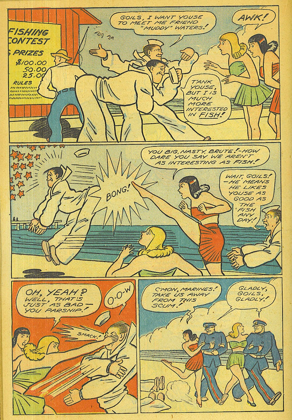 Read online Super-Magician Comics comic -  Issue #39 - 25