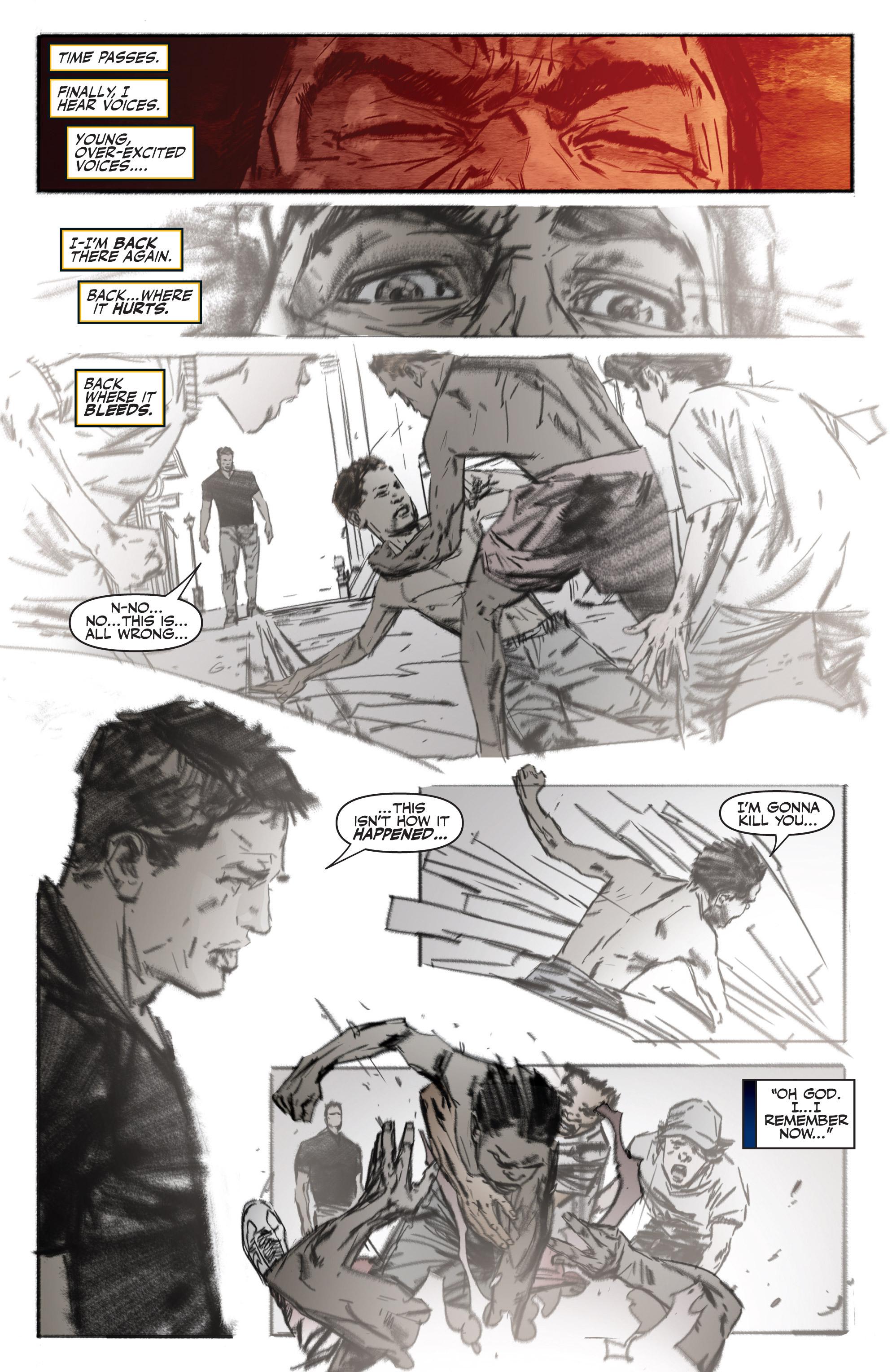 Read online Shadowman (2012) comic -  Issue #13 - 17