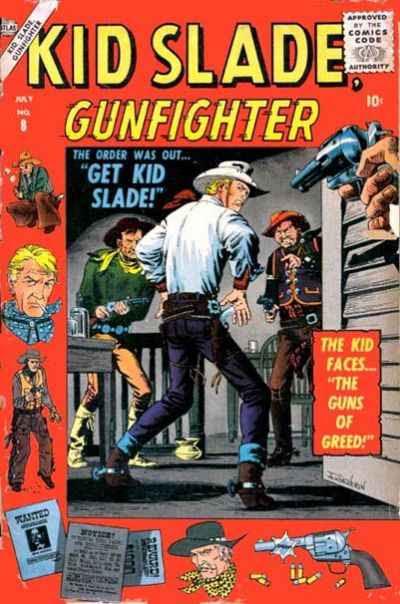 Kid Slade, Gunfighter 8 Page 1