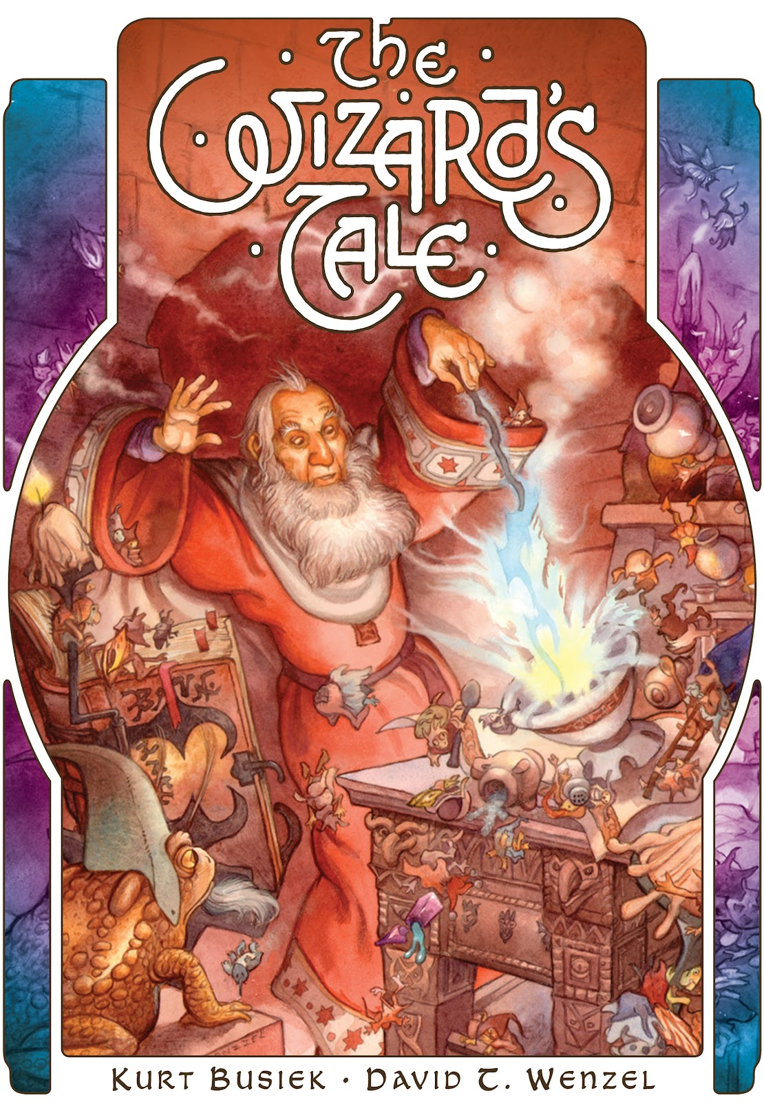 Read online The Wizard's Tale comic -  Issue # TPB - 1