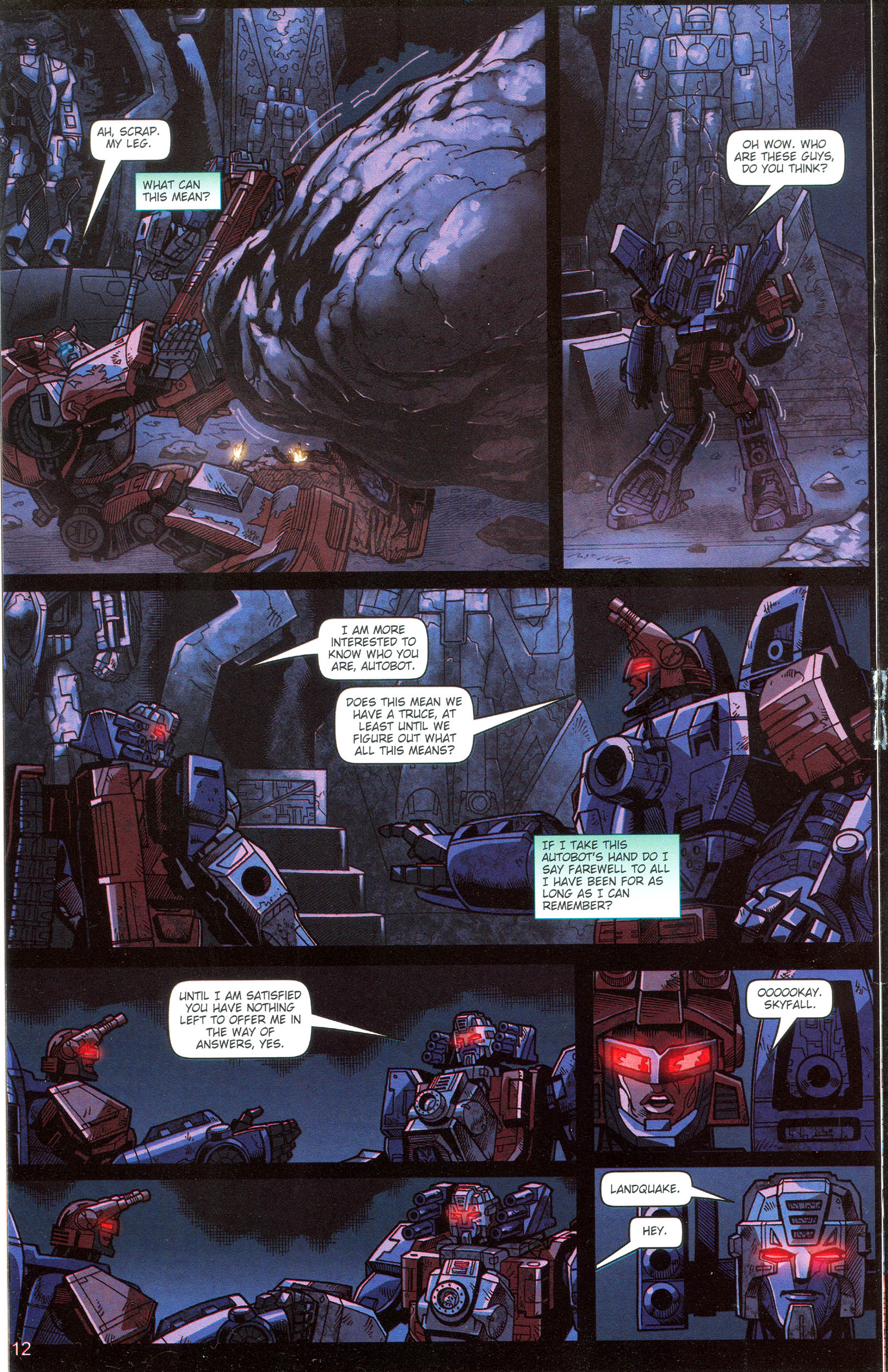 Read online Transformers: Collectors' Club comic -  Issue #16 - 12