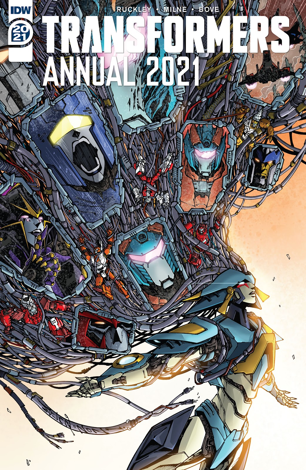 Transformers Annual 2021 issue Full - Page 1
