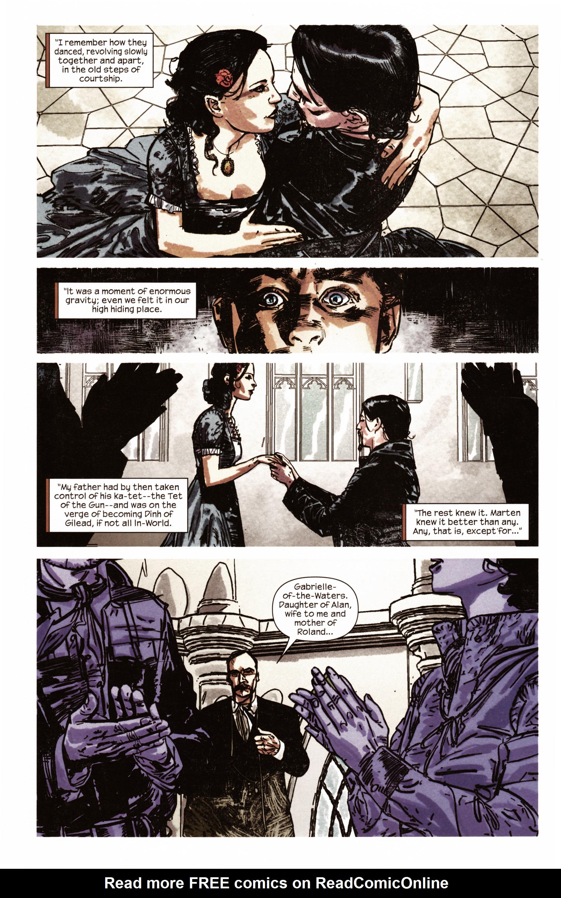 Read online Dark Tower: The Gunslinger - The Man in Black comic -  Issue #2 - 19