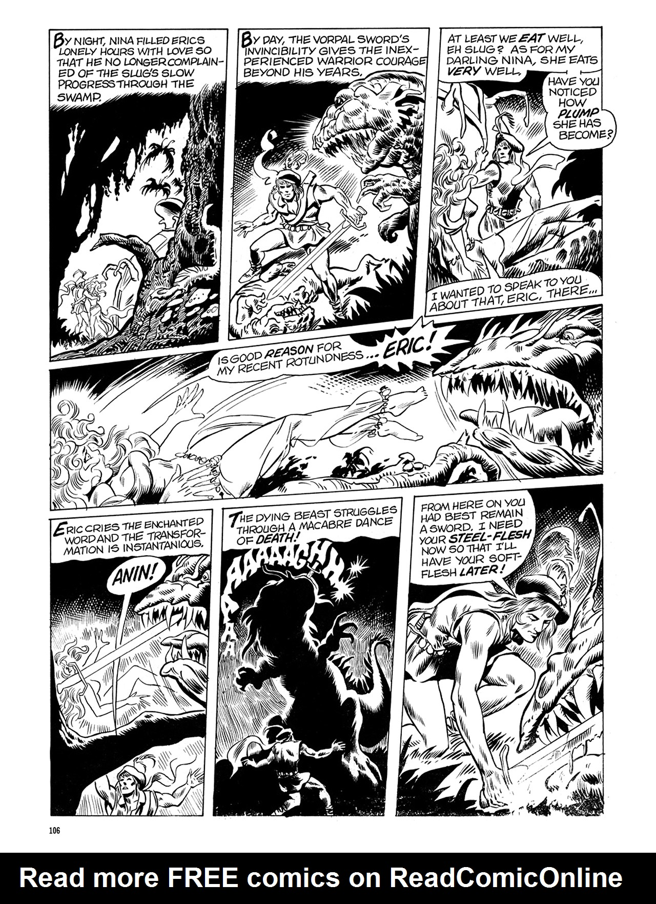 Read online Eerie Archives comic -  Issue # TPB 6 - 106