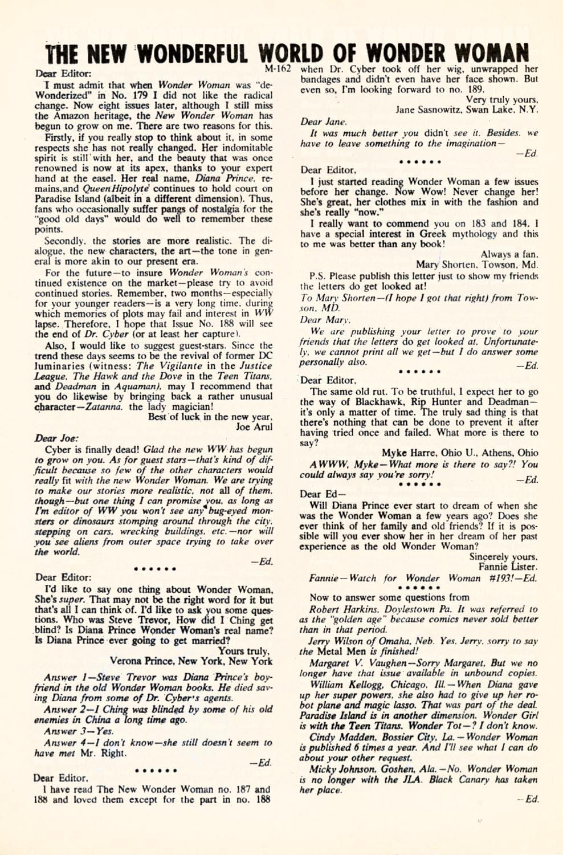 Read online Wonder Woman (1942) comic -  Issue #190 - 20