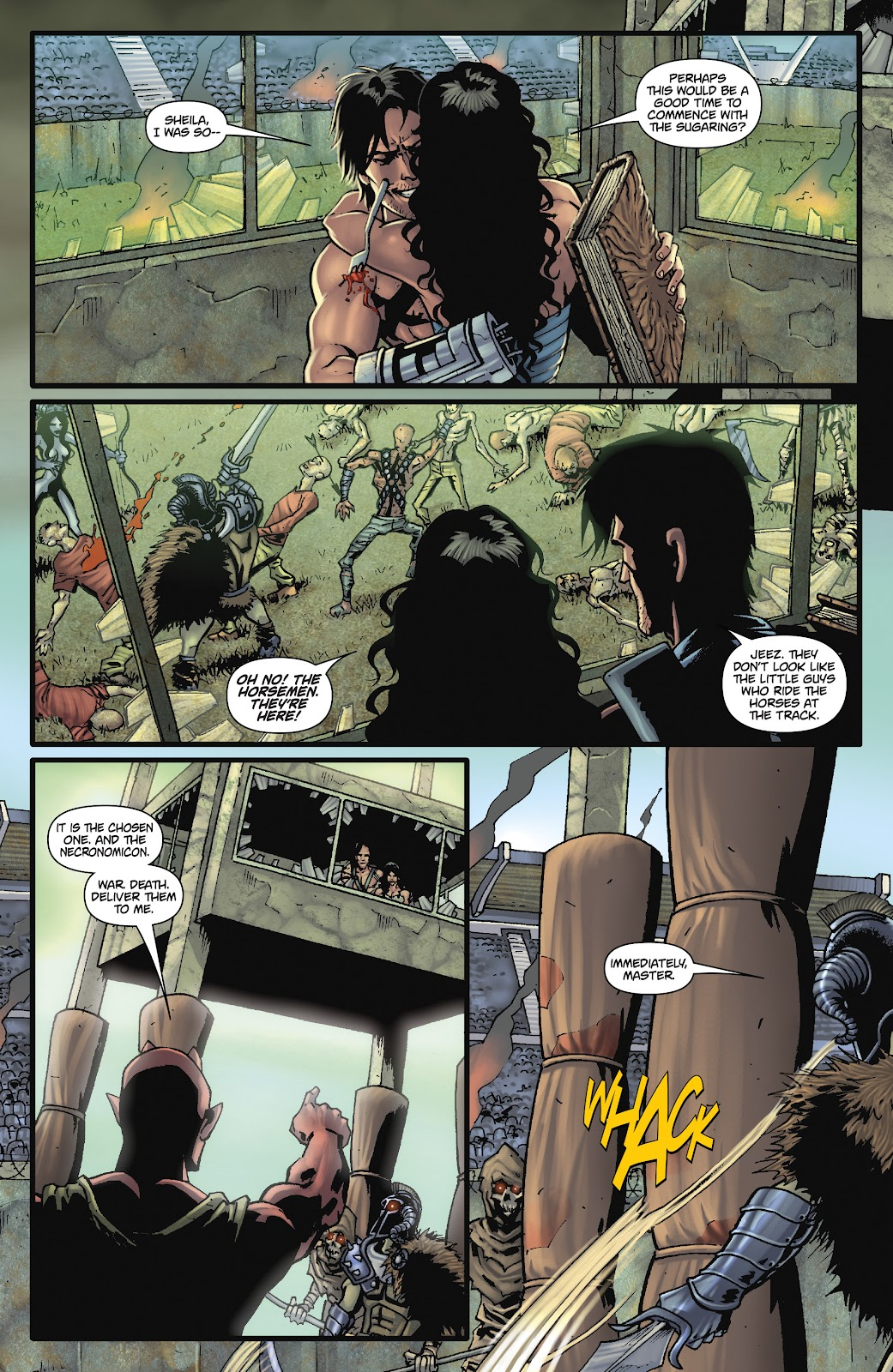 Army of Darkness: The Long Road Home issue TPB - Page 93