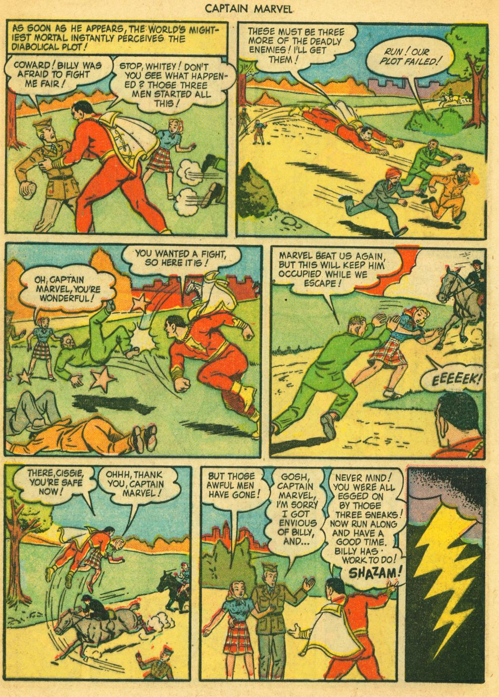 Captain Marvel Adventures issue 41 - Page 12