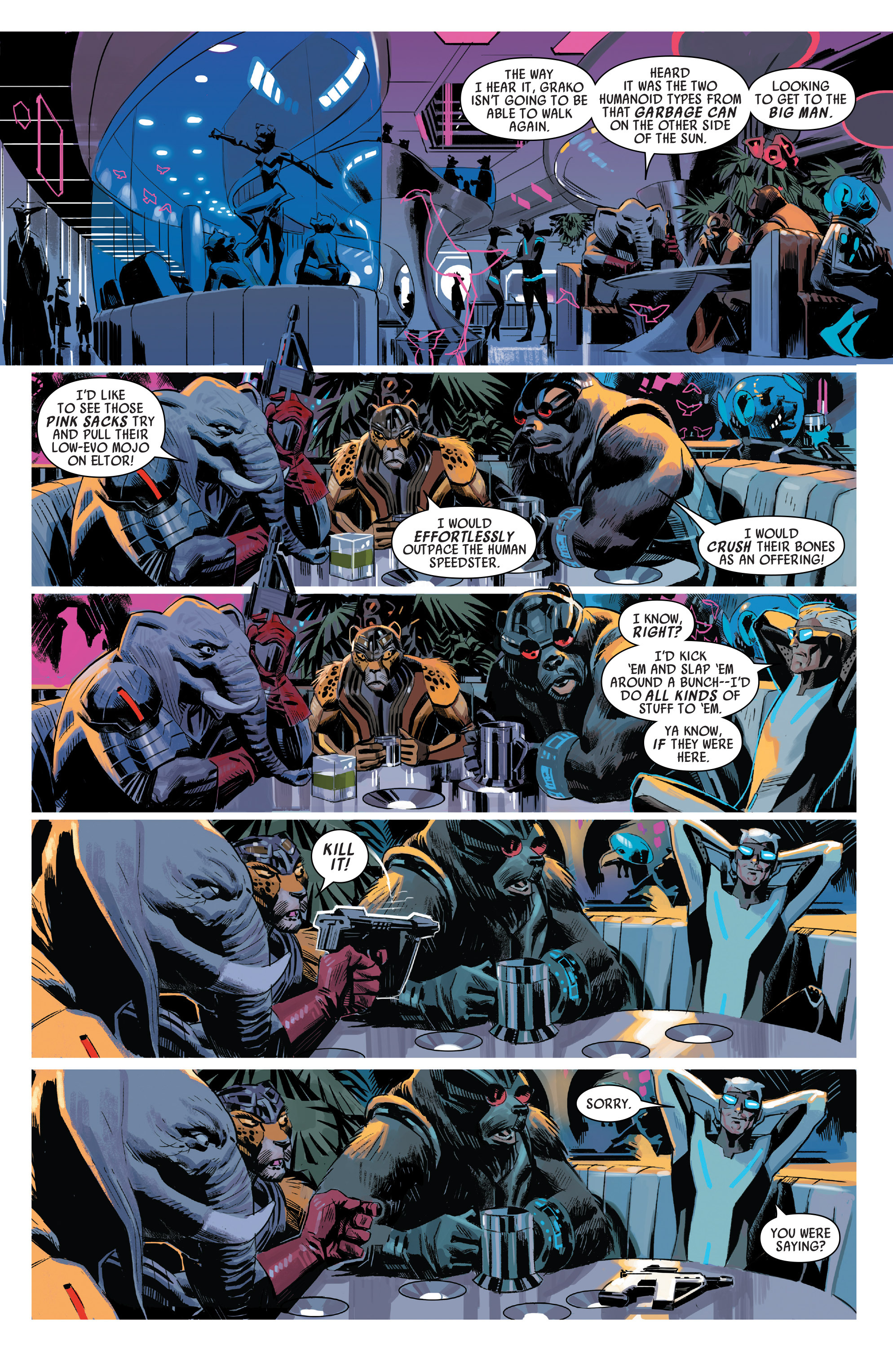 Read online Uncanny Avengers [I] comic -  Issue #1 - 2
